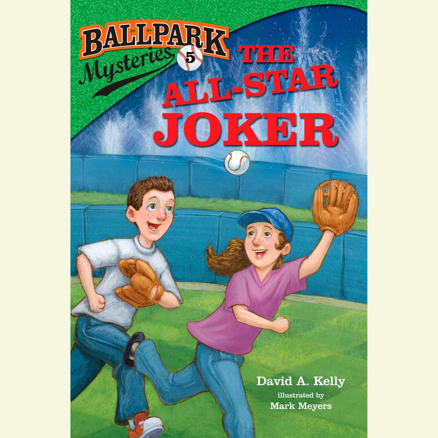 Printable Ballpark Mysteries #5: The All-Star Joker Audiobook Cover Art