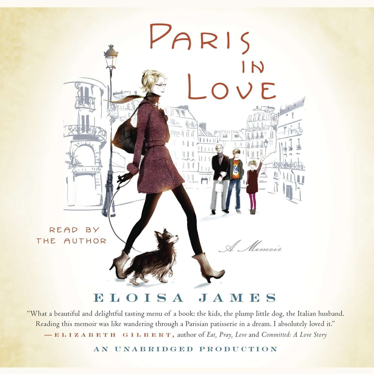Printable Paris in Love: A Memoir Audiobook Cover Art