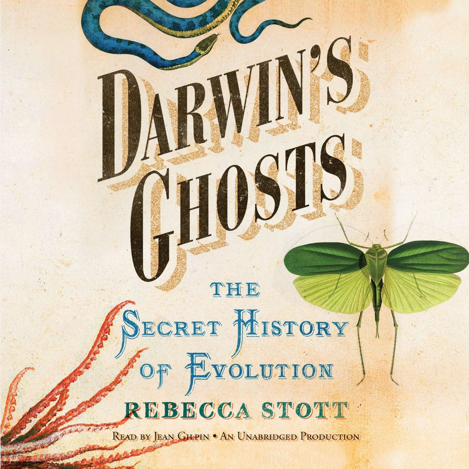 Printable Darwin's Ghosts: The Secret History of Evolution Audiobook Cover Art