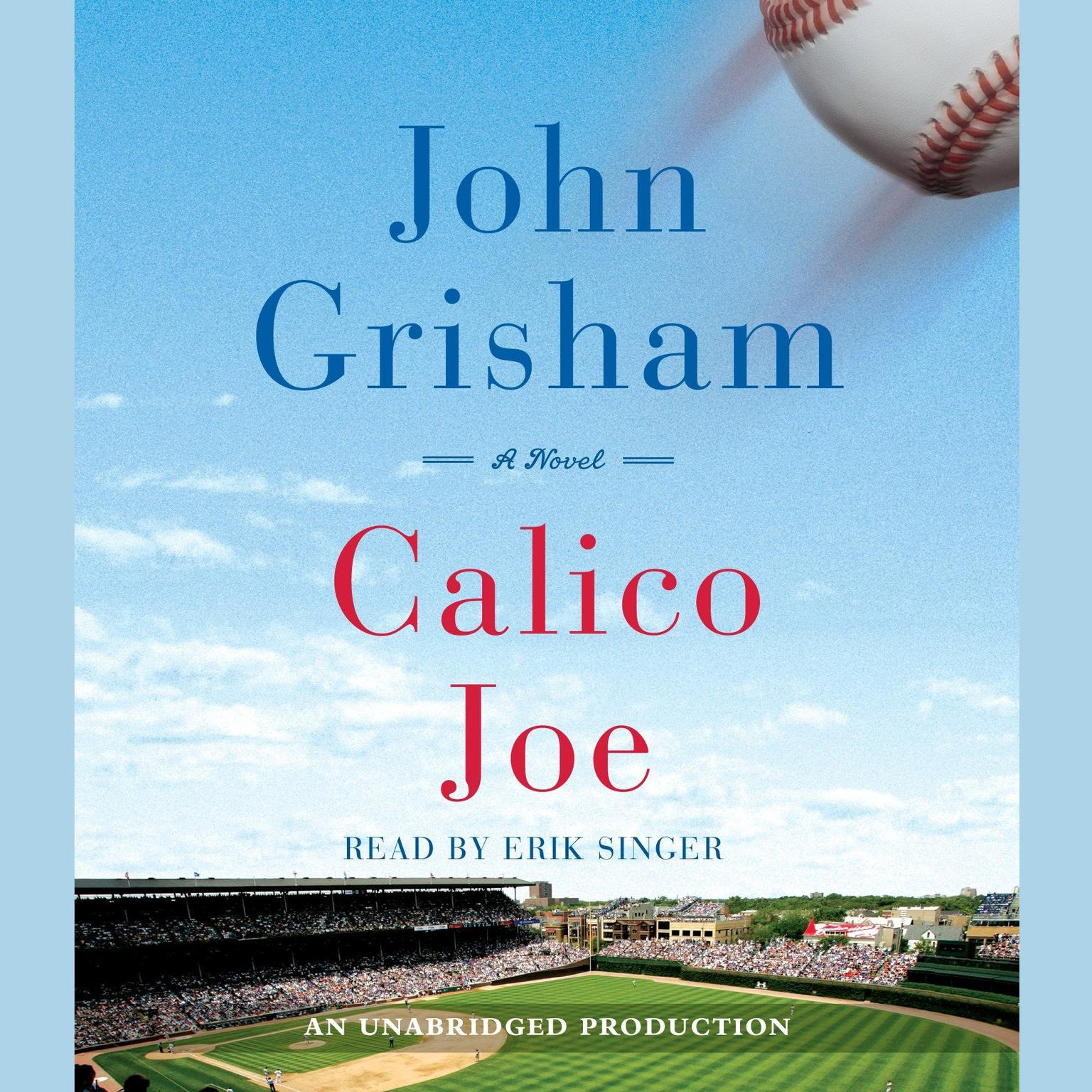 Printable Calico Joe Audiobook Cover Art