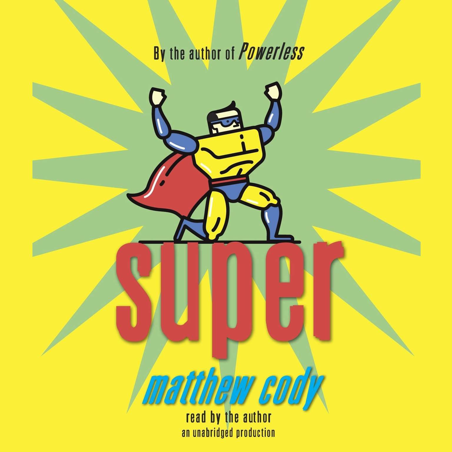 Printable Super Audiobook Cover Art