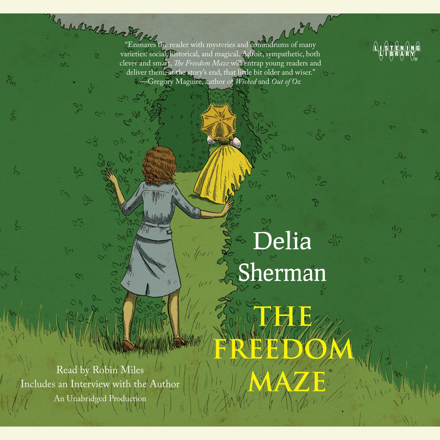 Printable The Freedom Maze Audiobook Cover Art
