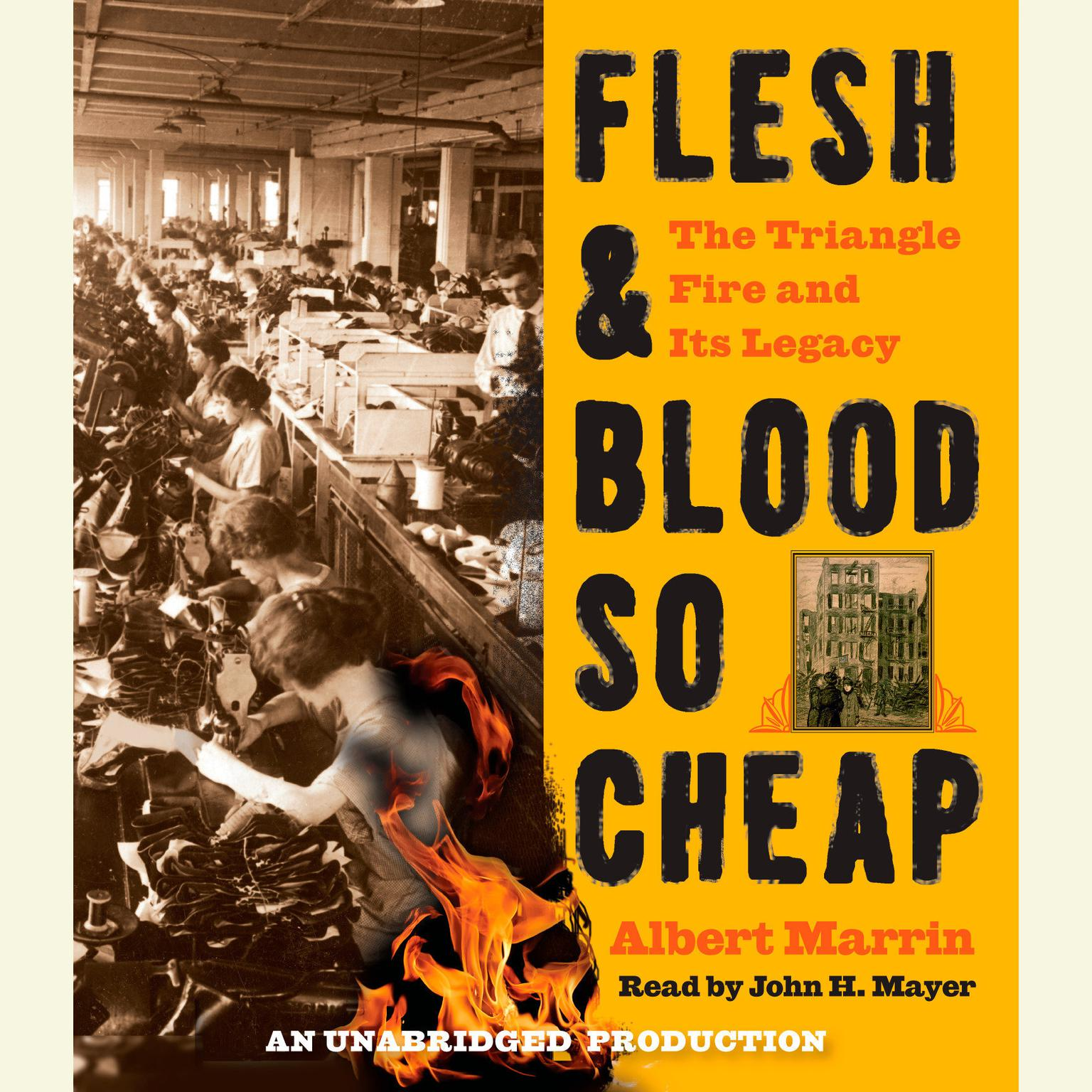 Printable Flesh and Blood So Cheap: The Triangle Fire and Its Legacy Audiobook Cover Art