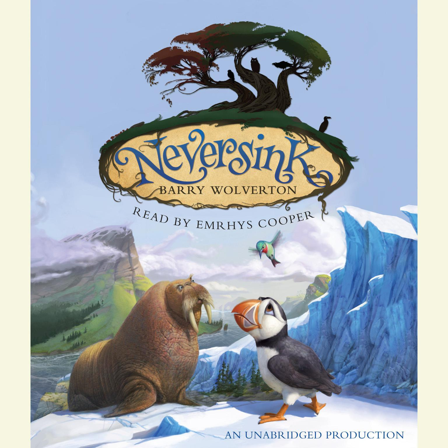 Printable Neversink Audiobook Cover Art