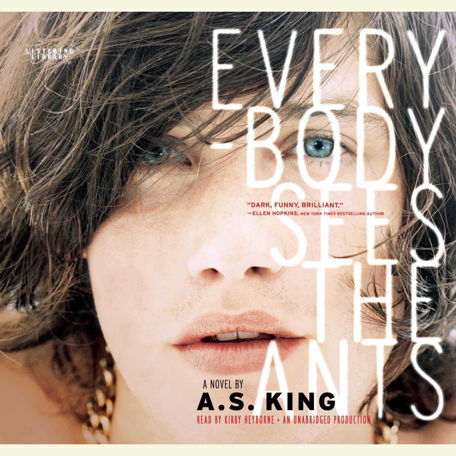 Printable Everybody Sees the Ants Audiobook Cover Art