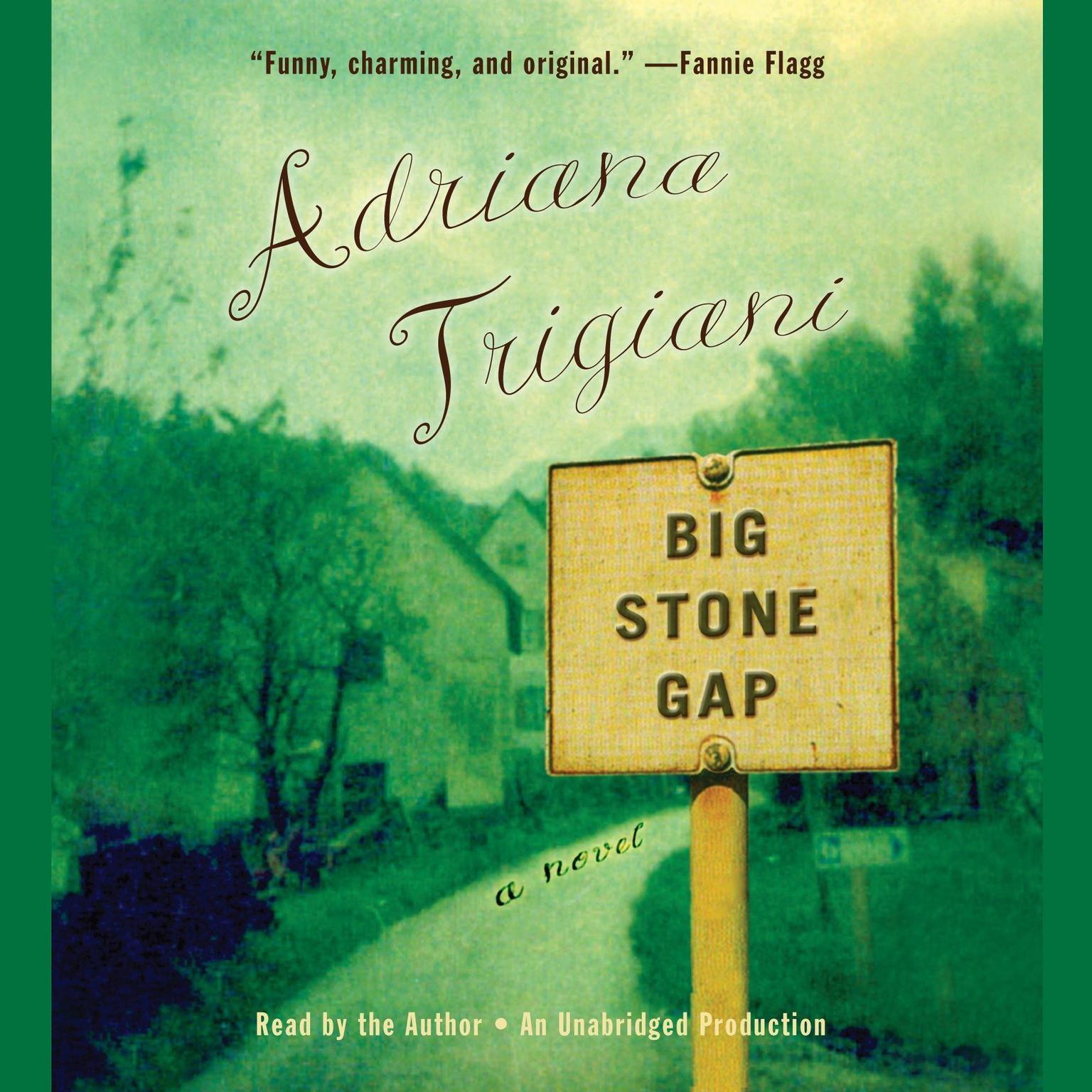 Printable Big Stone Gap: A Novel Audiobook Cover Art