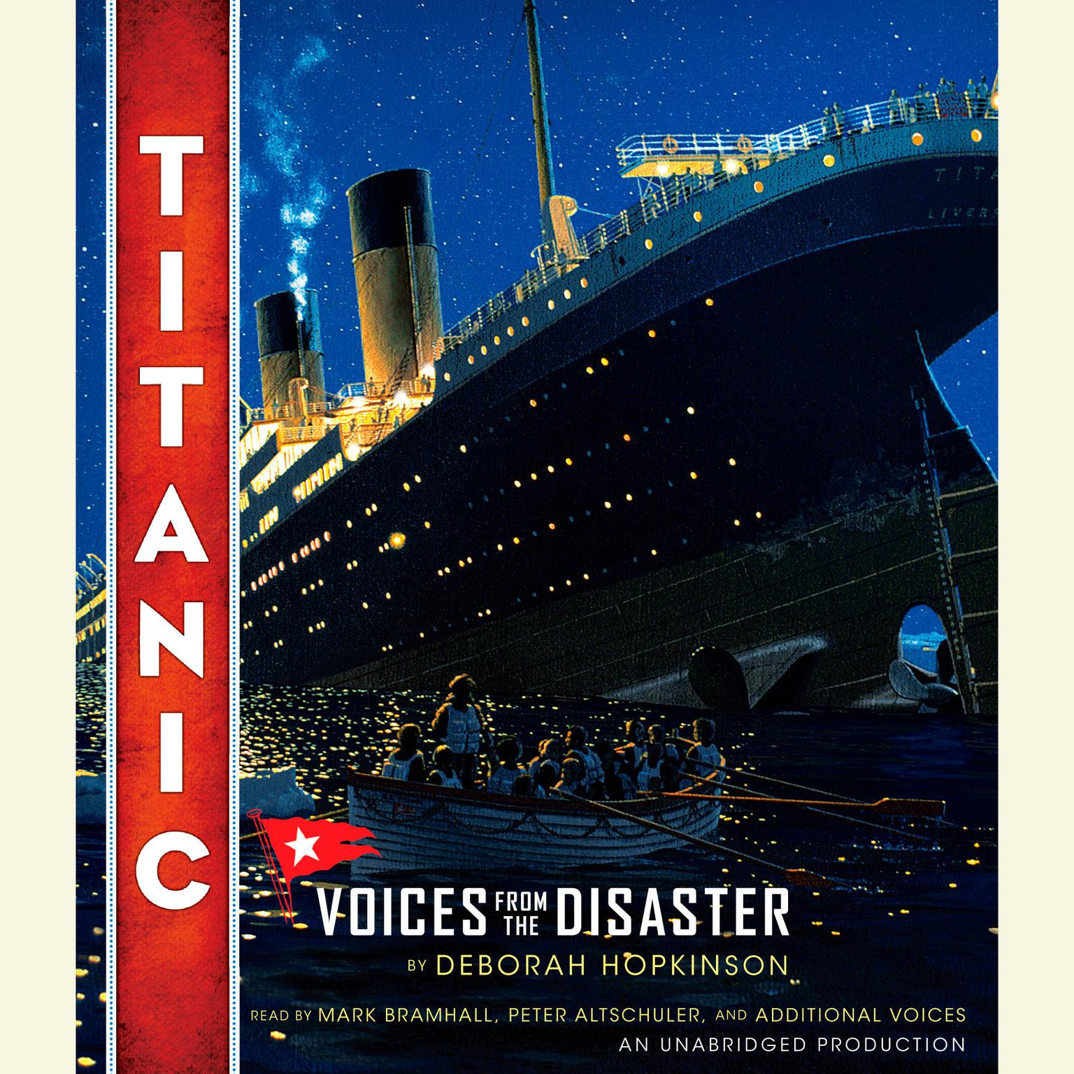 Printable Titanic: Voices From the Disaster: Voices from the Disaster Audiobook Cover Art