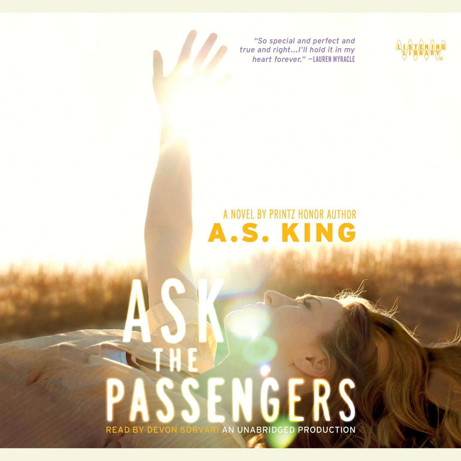 Printable Ask the Passengers Audiobook Cover Art