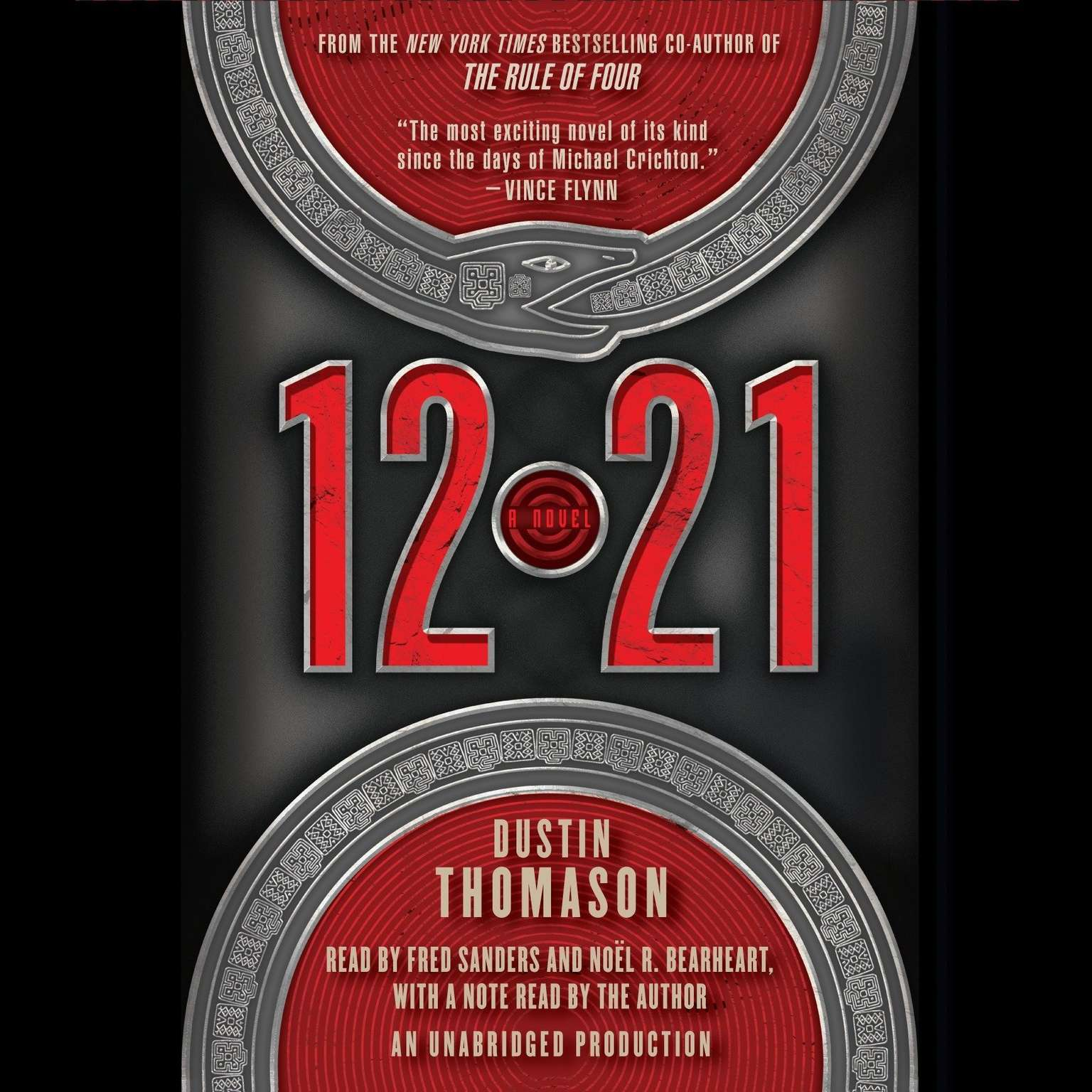 Printable 12.21: A Novel Audiobook Cover Art