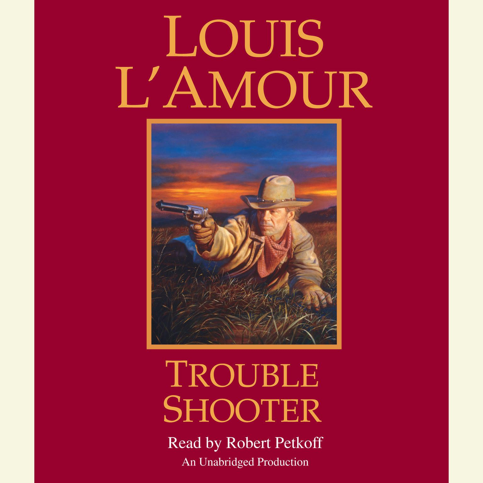 Printable Trouble Shooter: A Novel Audiobook Cover Art