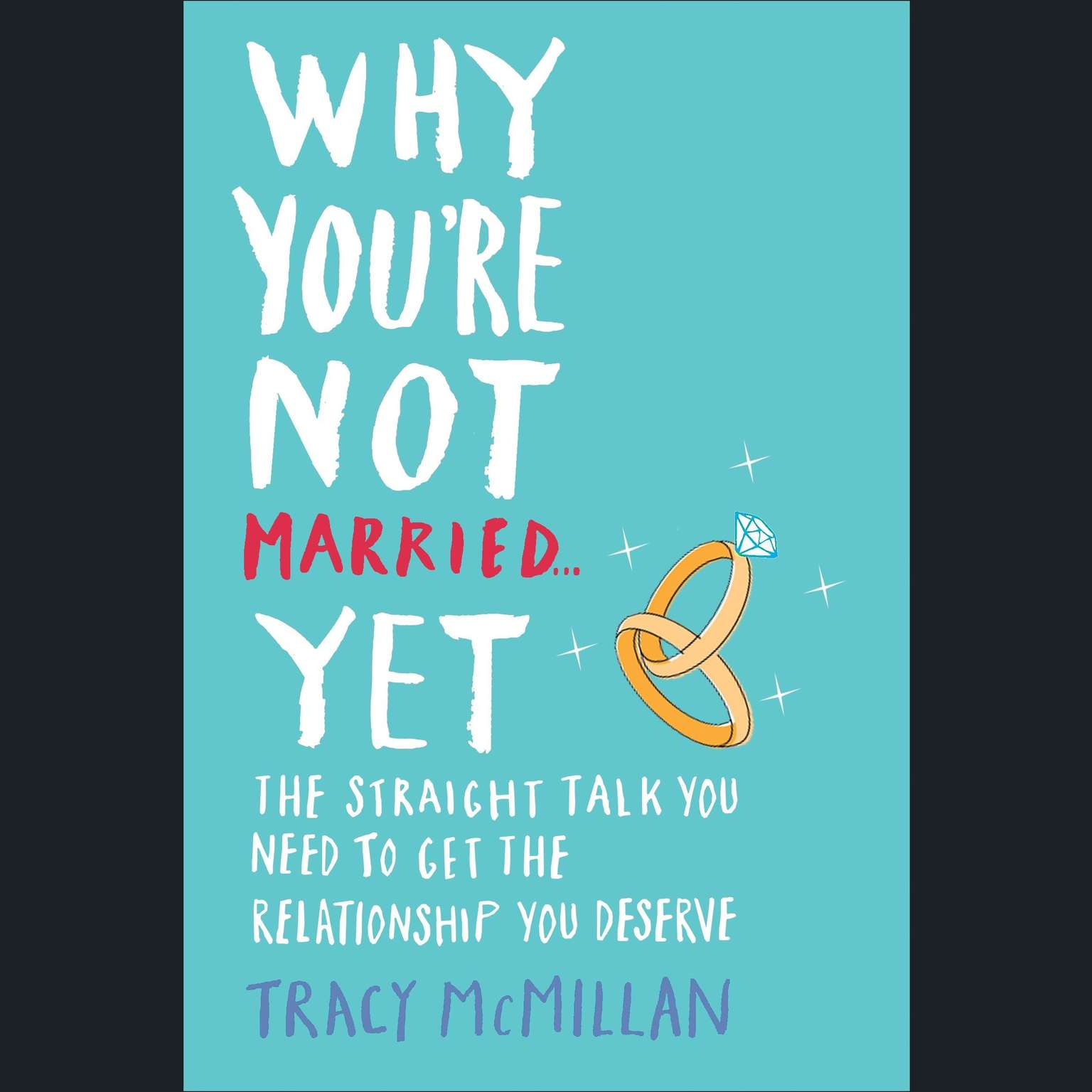 Printable Why You're Not Married . . . Yet: The Straight Talk You Need to Get the Relationship You Deserve Audiobook Cover Art