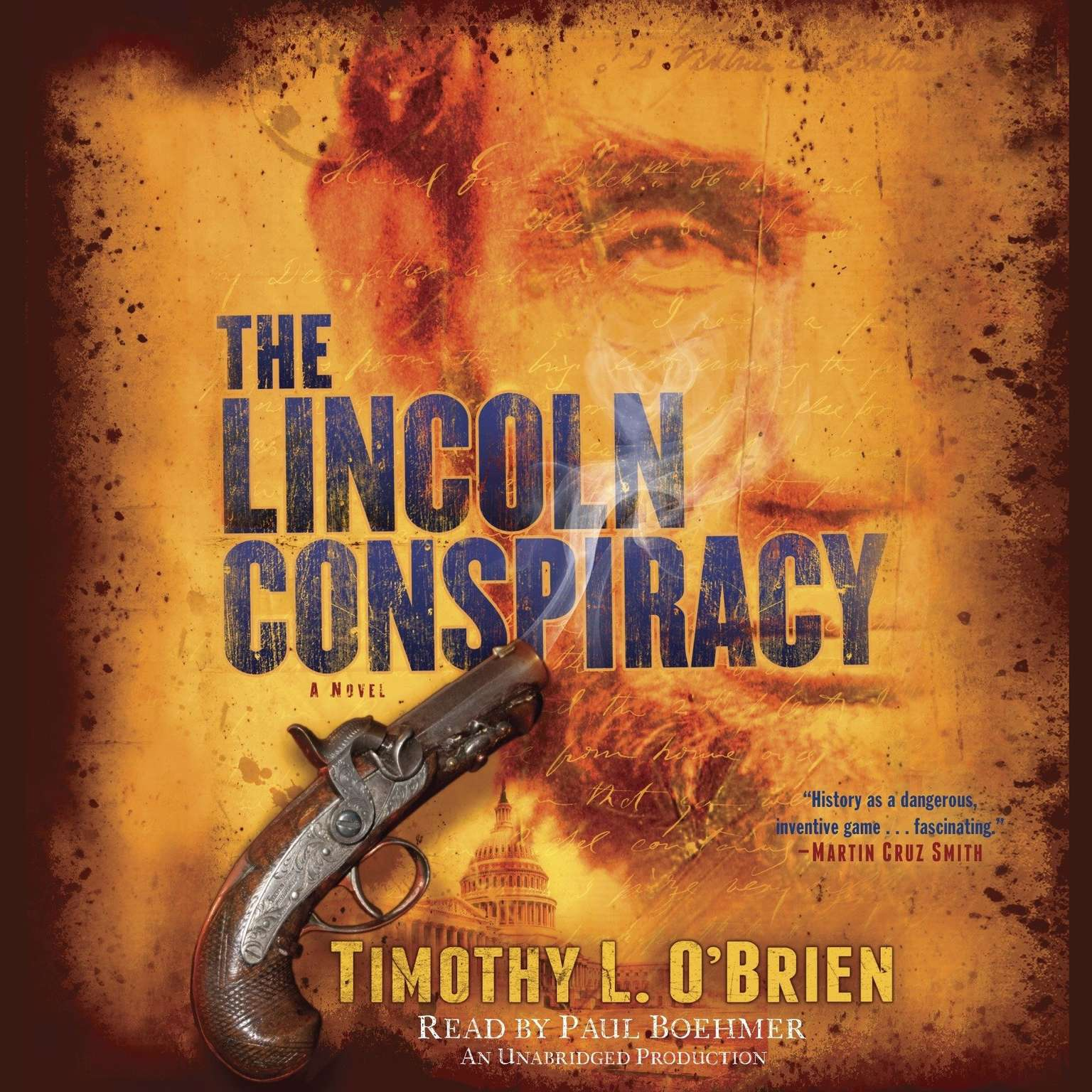 Printable The Lincoln Conspiracy: A Novel Audiobook Cover Art