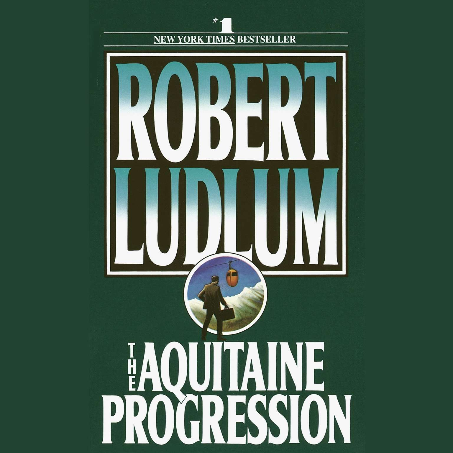 Printable The Aquitaine Progression: A Novel Audiobook Cover Art