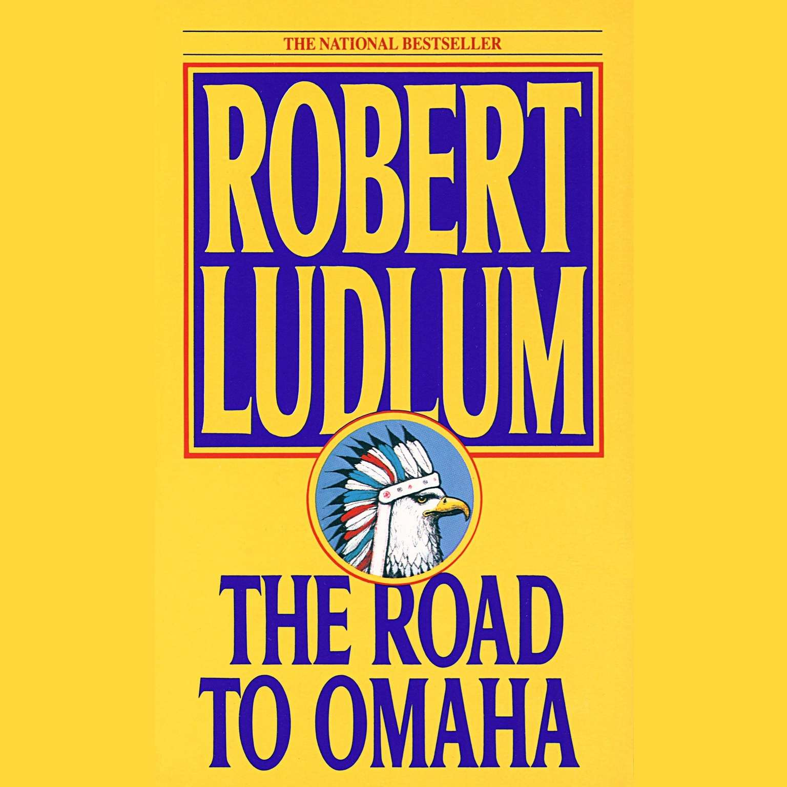 Printable The Road to Omaha Audiobook Cover Art
