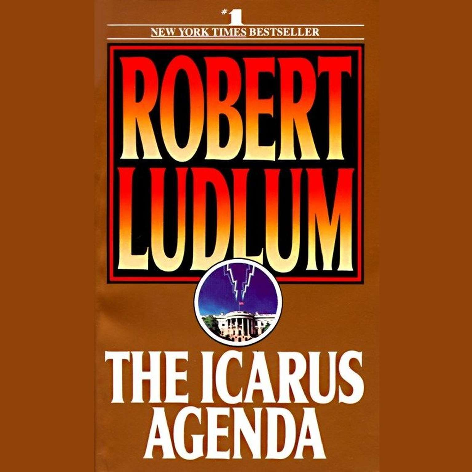 Printable The Icarus Agenda Audiobook Cover Art