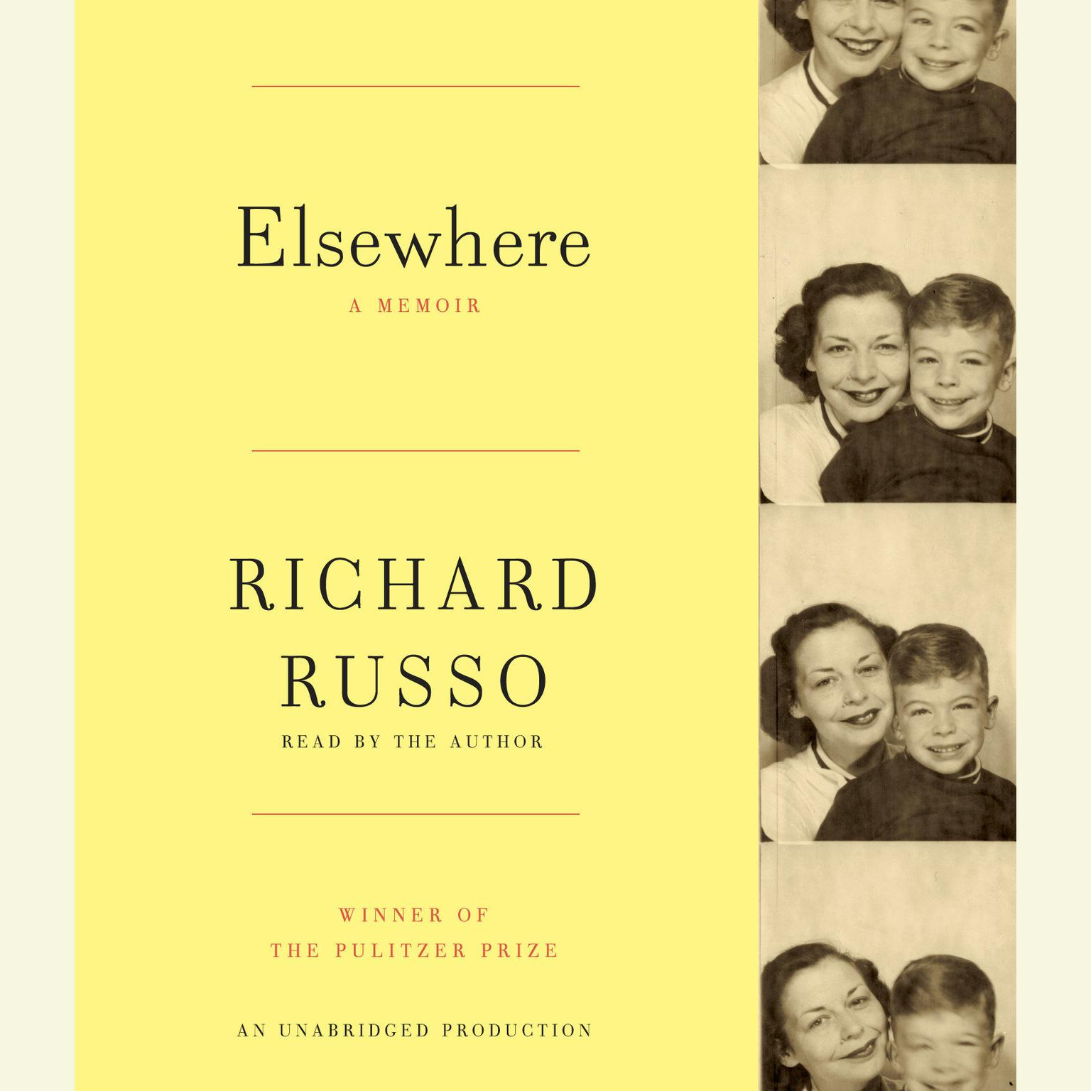 Printable Elsewhere: A memoir Audiobook Cover Art
