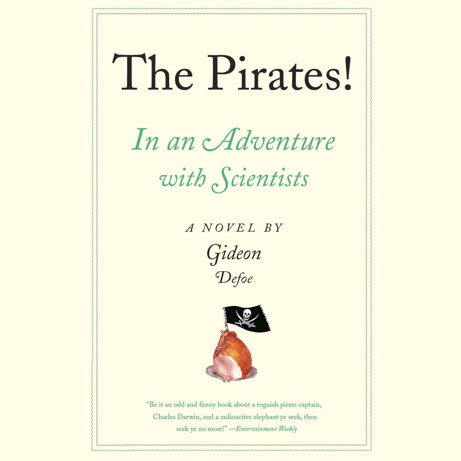 Printable The Pirates! In an Adventure with Scientists: A Novel Audiobook Cover Art