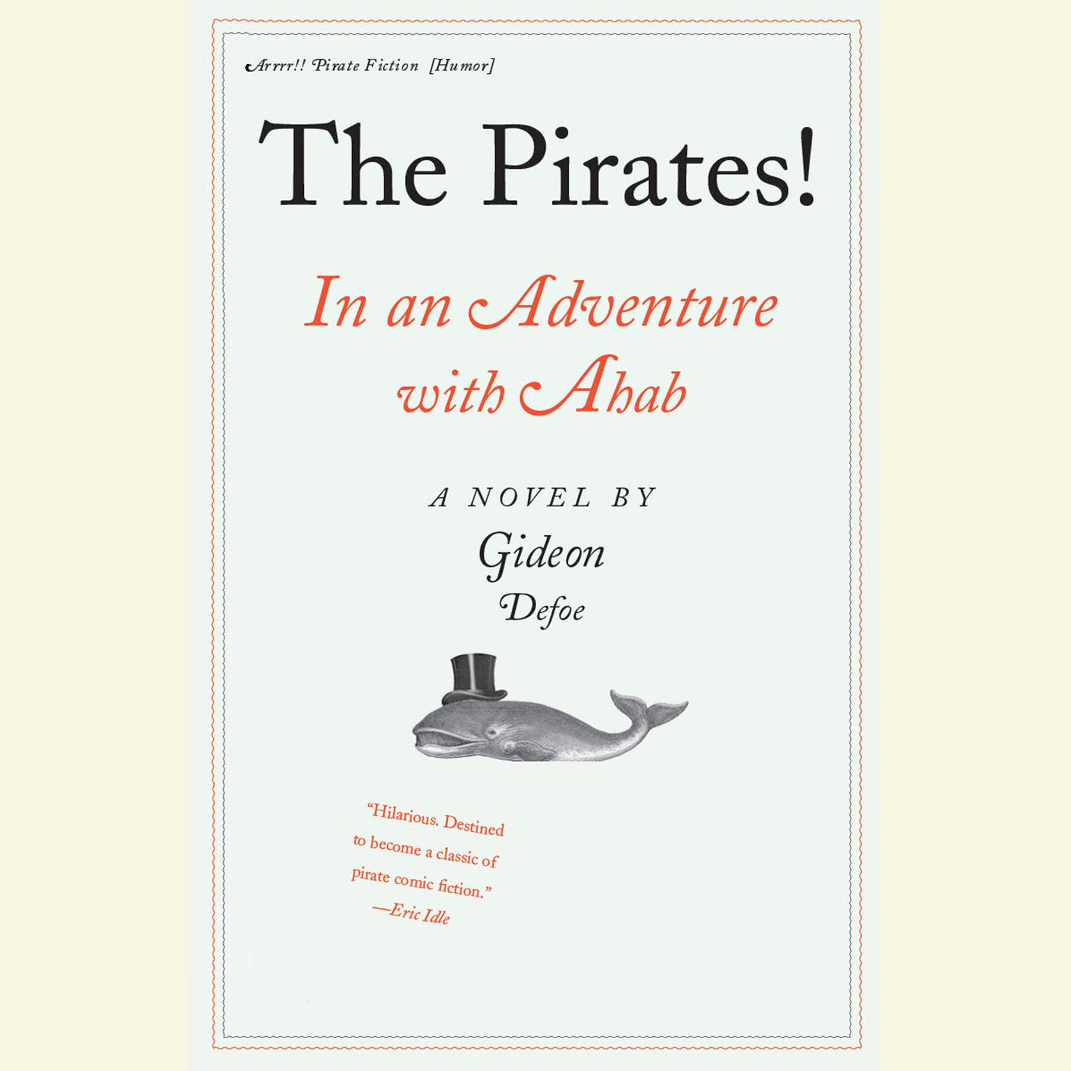 Printable In an Adventure with Ahab: The Pirates! Audiobook Cover Art