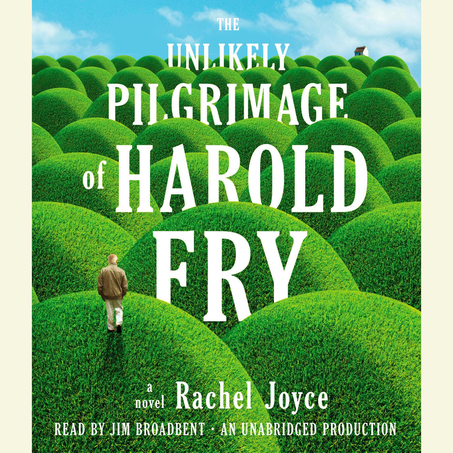 Printable The Unlikely Pilgrimage of Harold Fry: A Novel Audiobook Cover Art