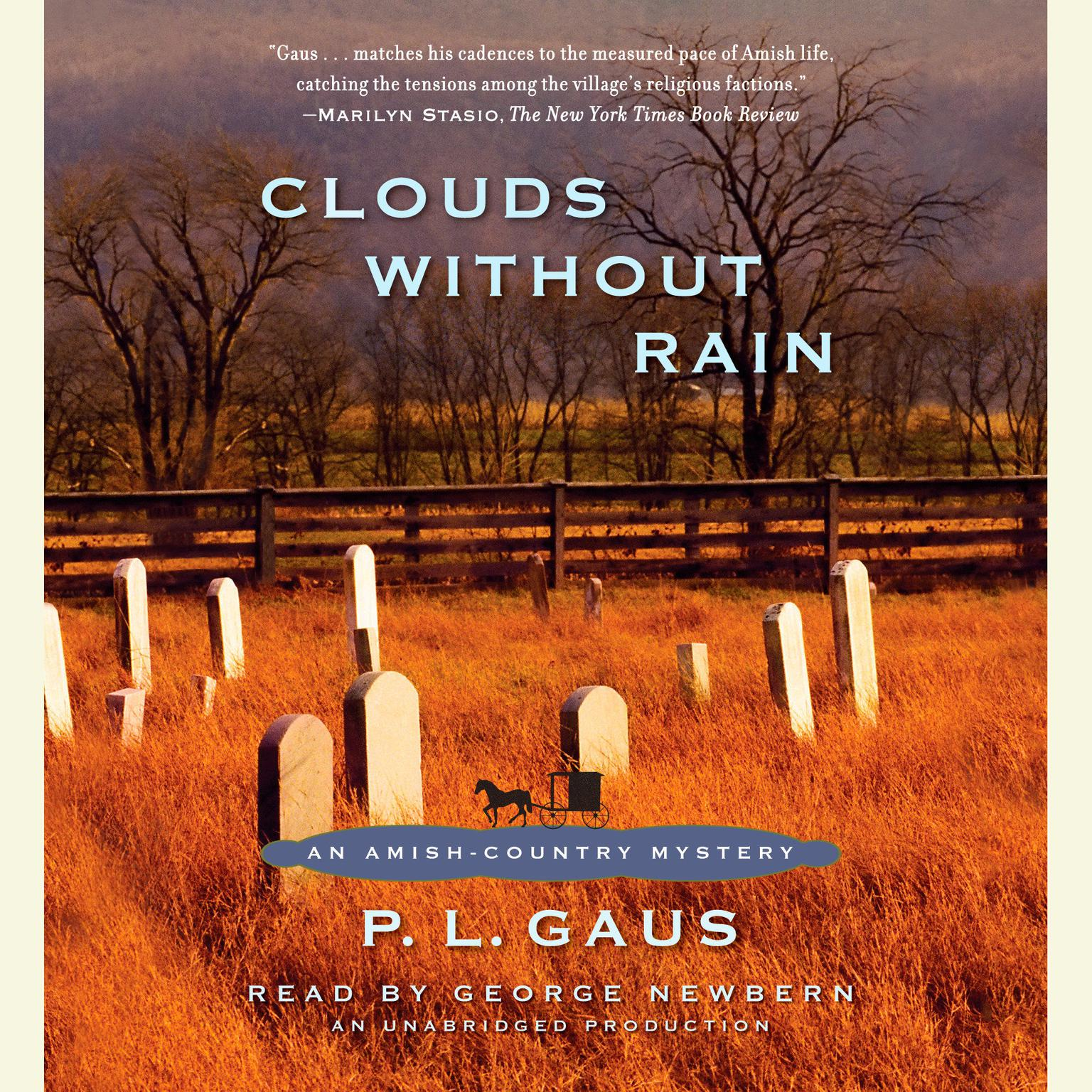 Printable Clouds without Rain Audiobook Cover Art