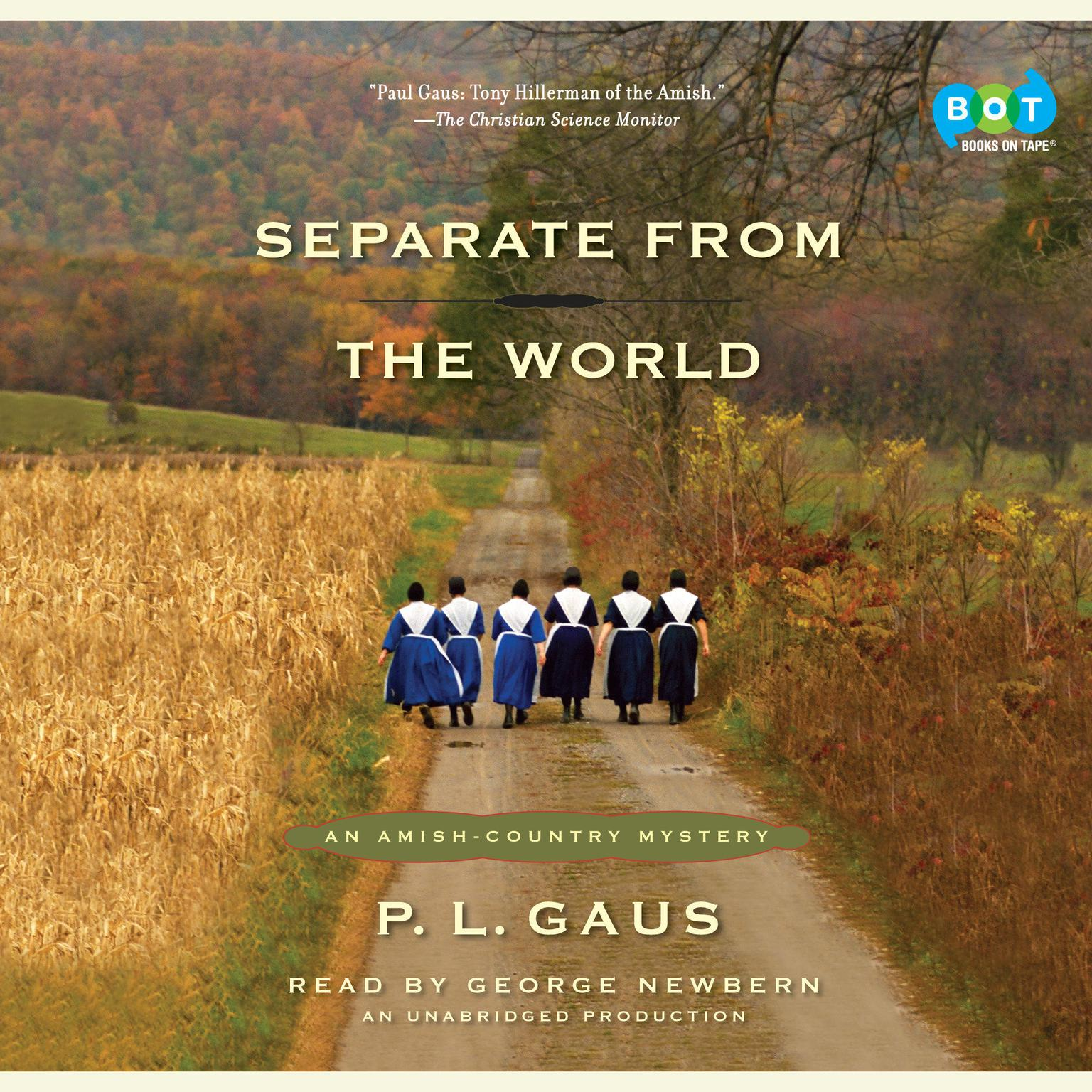 Printable Separate from the World: An Amish-Country Mystery (#6) Audiobook Cover Art