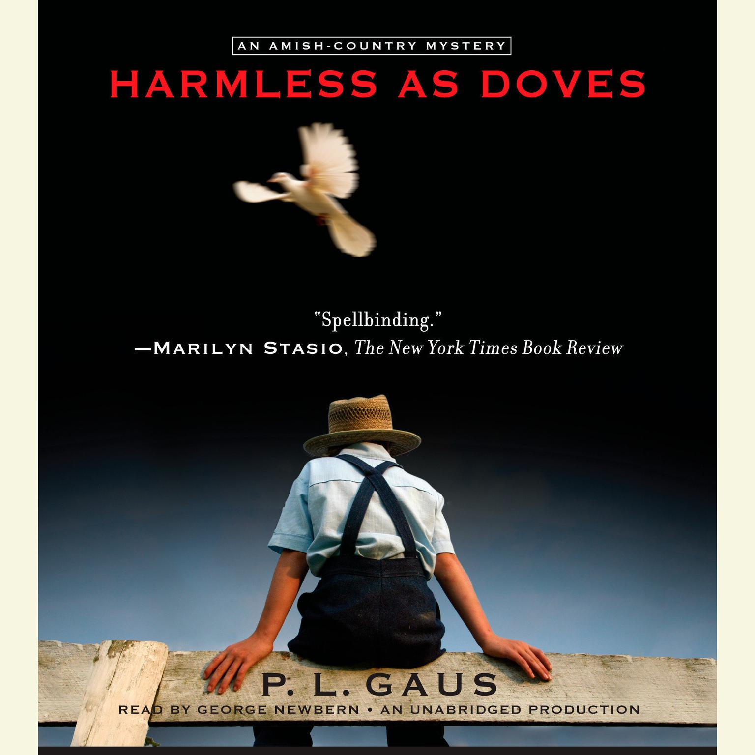 Printable Harmless as Doves Audiobook Cover Art