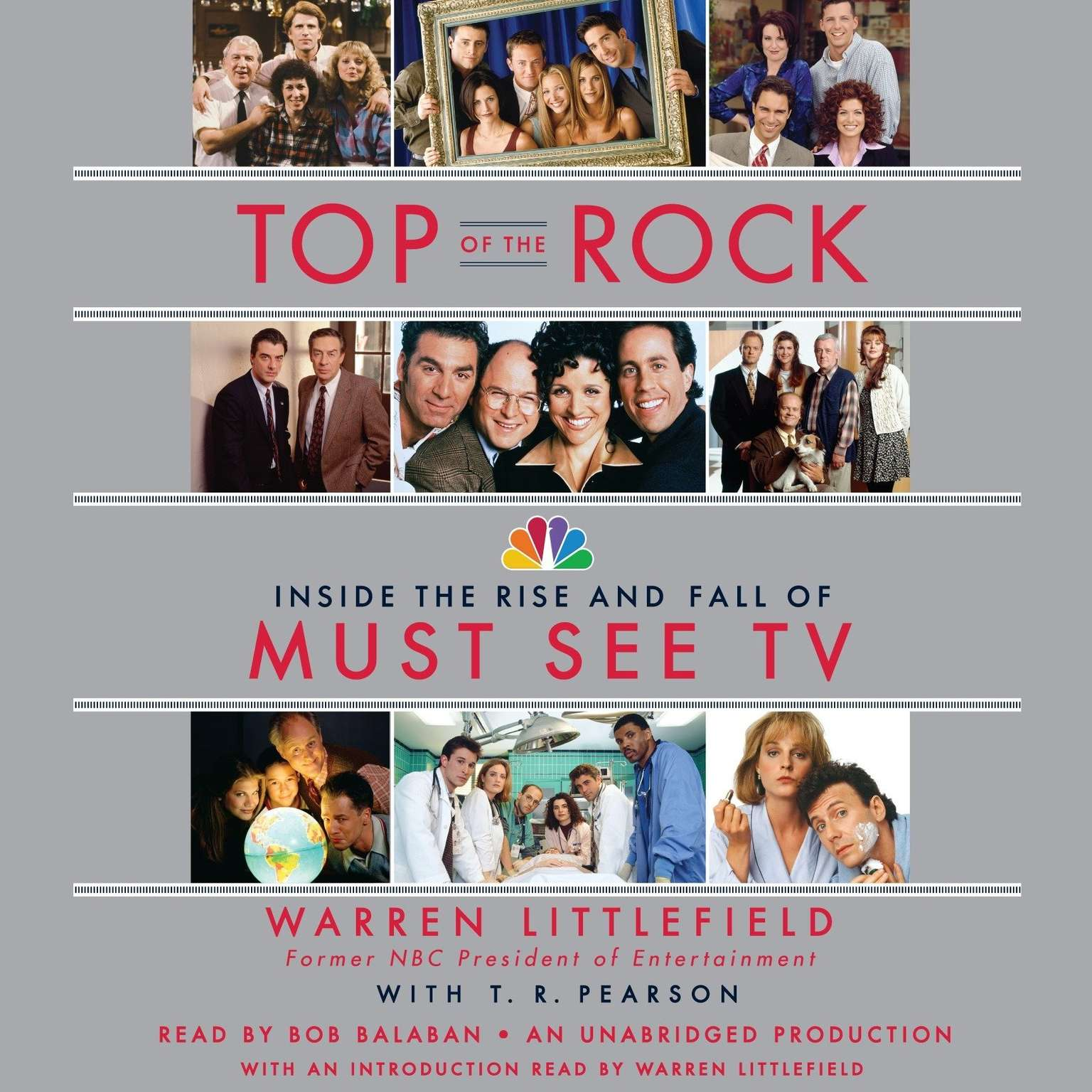 Printable Top of the Rock: Inside the Rise and Fall of Must See TV Audiobook Cover Art