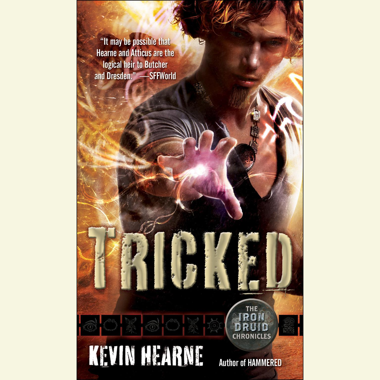 Printable Tricked: The Iron Druid Chronicles Audiobook Cover Art