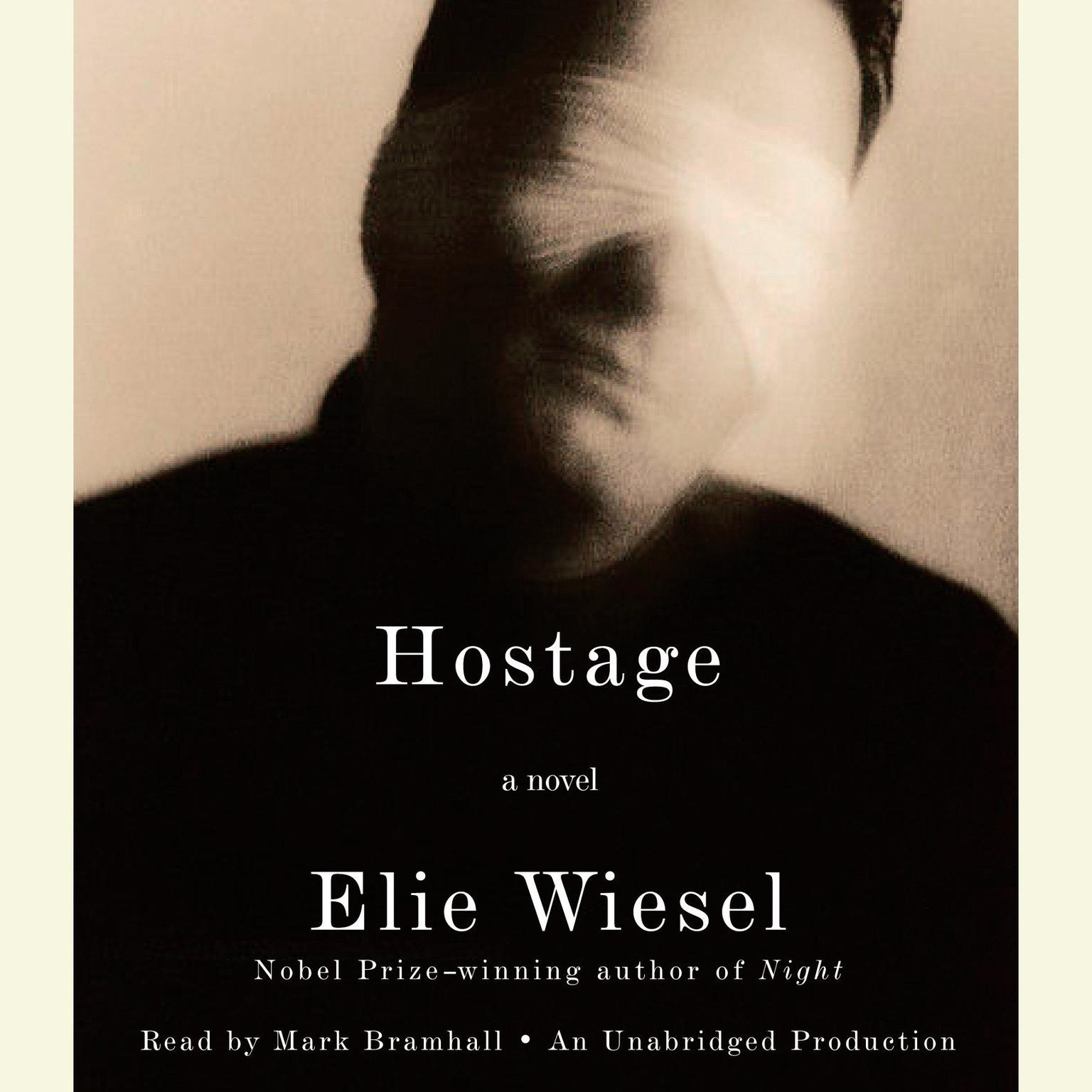 Printable Hostage Audiobook Cover Art
