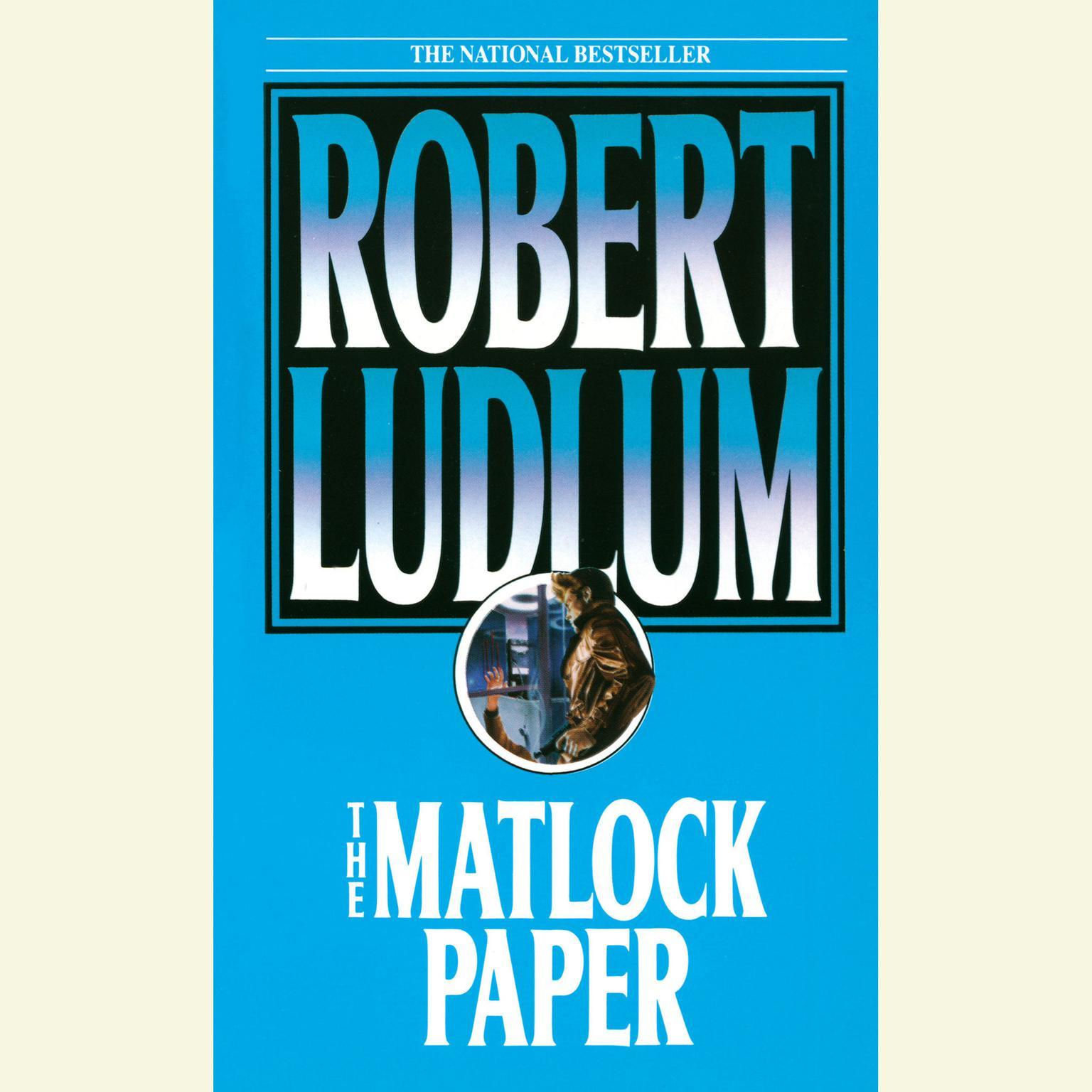 Printable The Matlock Paper Audiobook Cover Art