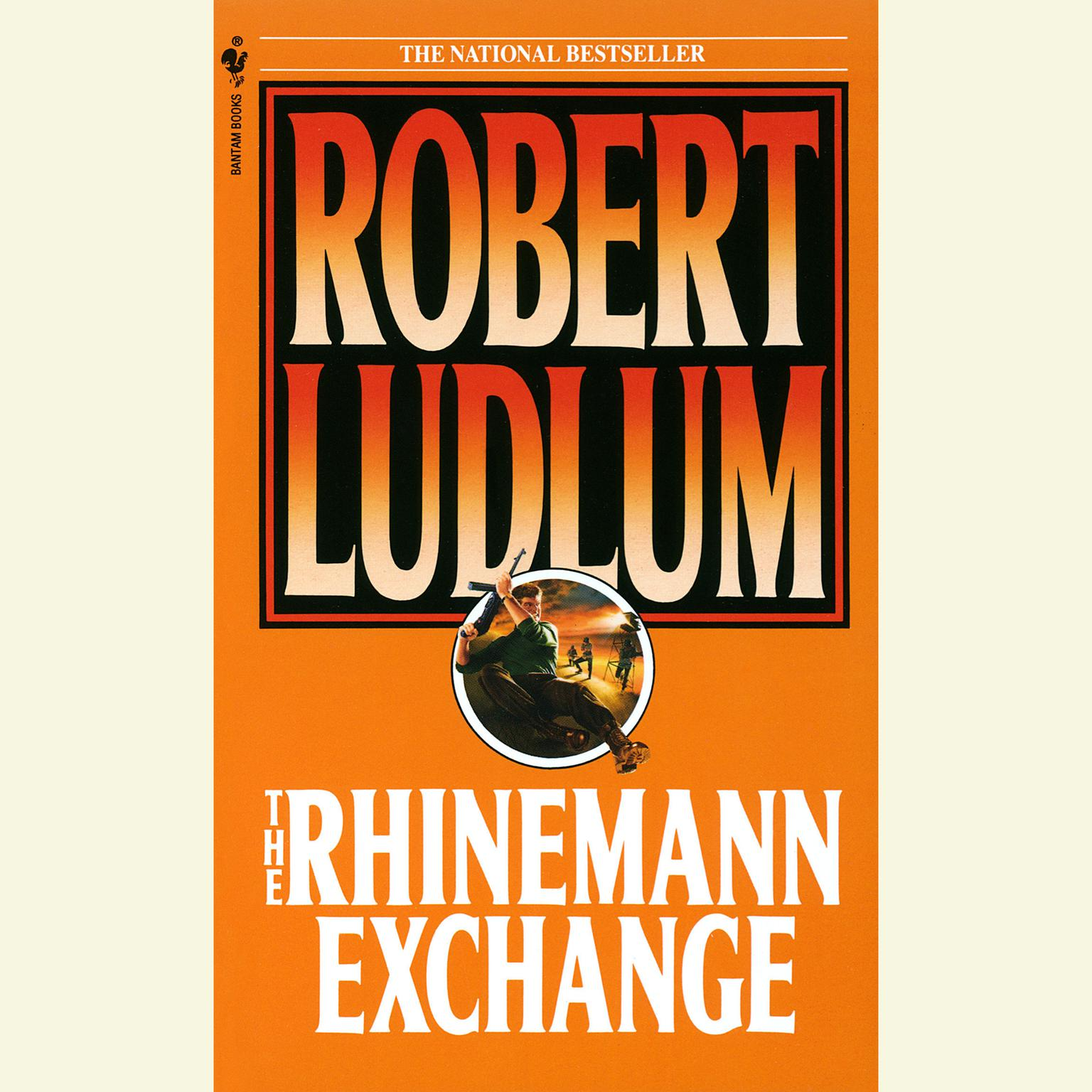 Printable The Rhinemann Exchange Audiobook Cover Art