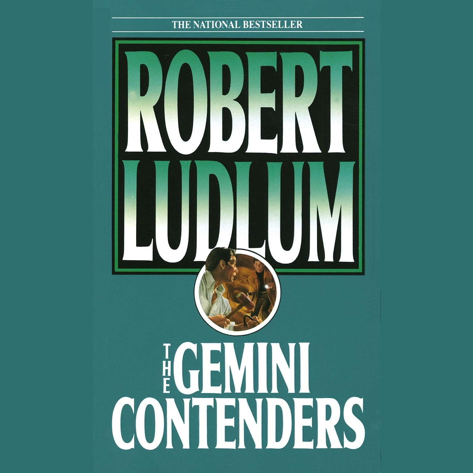 Printable The Gemini Contenders Audiobook Cover Art
