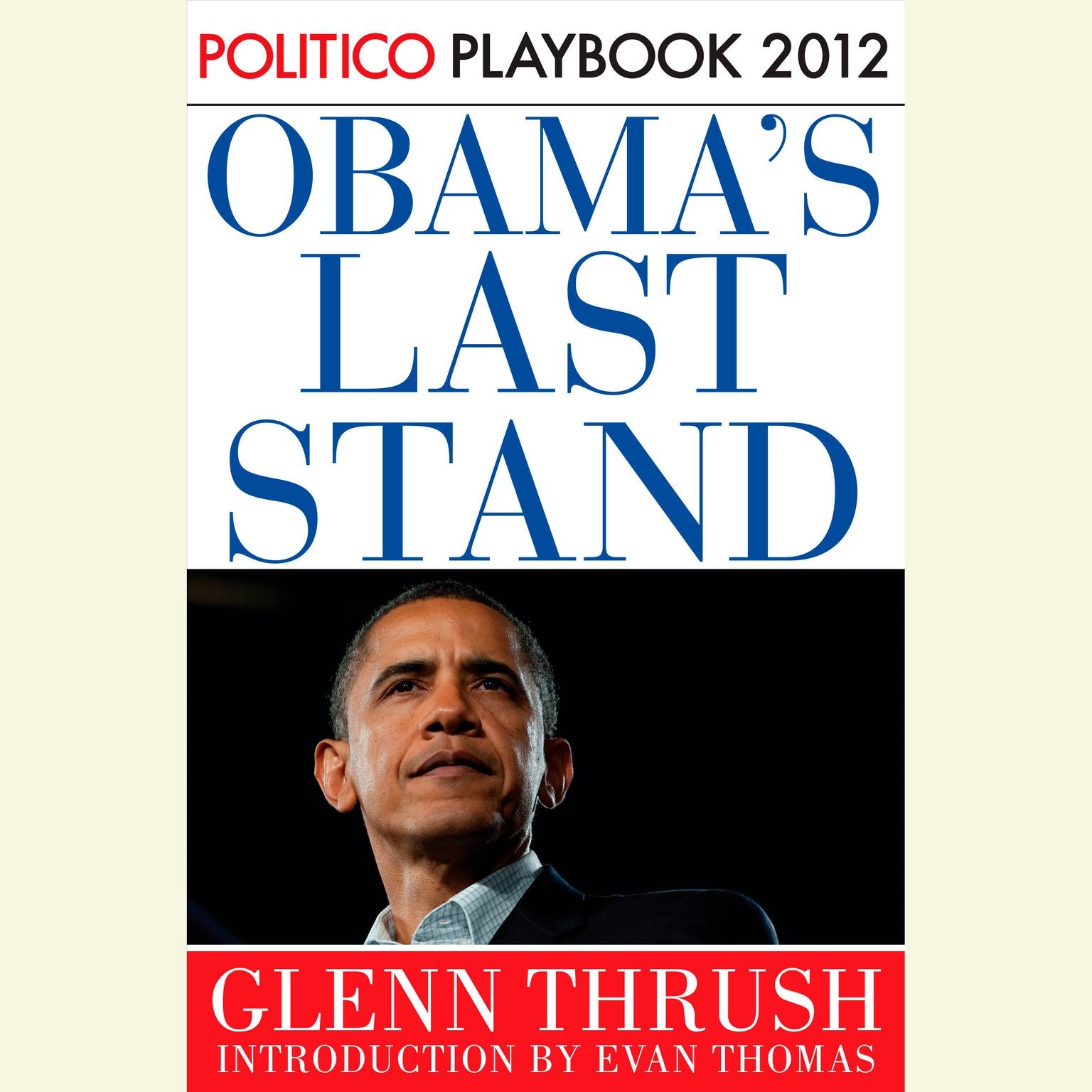 Printable Obama's Last Stand Audiobook Cover Art