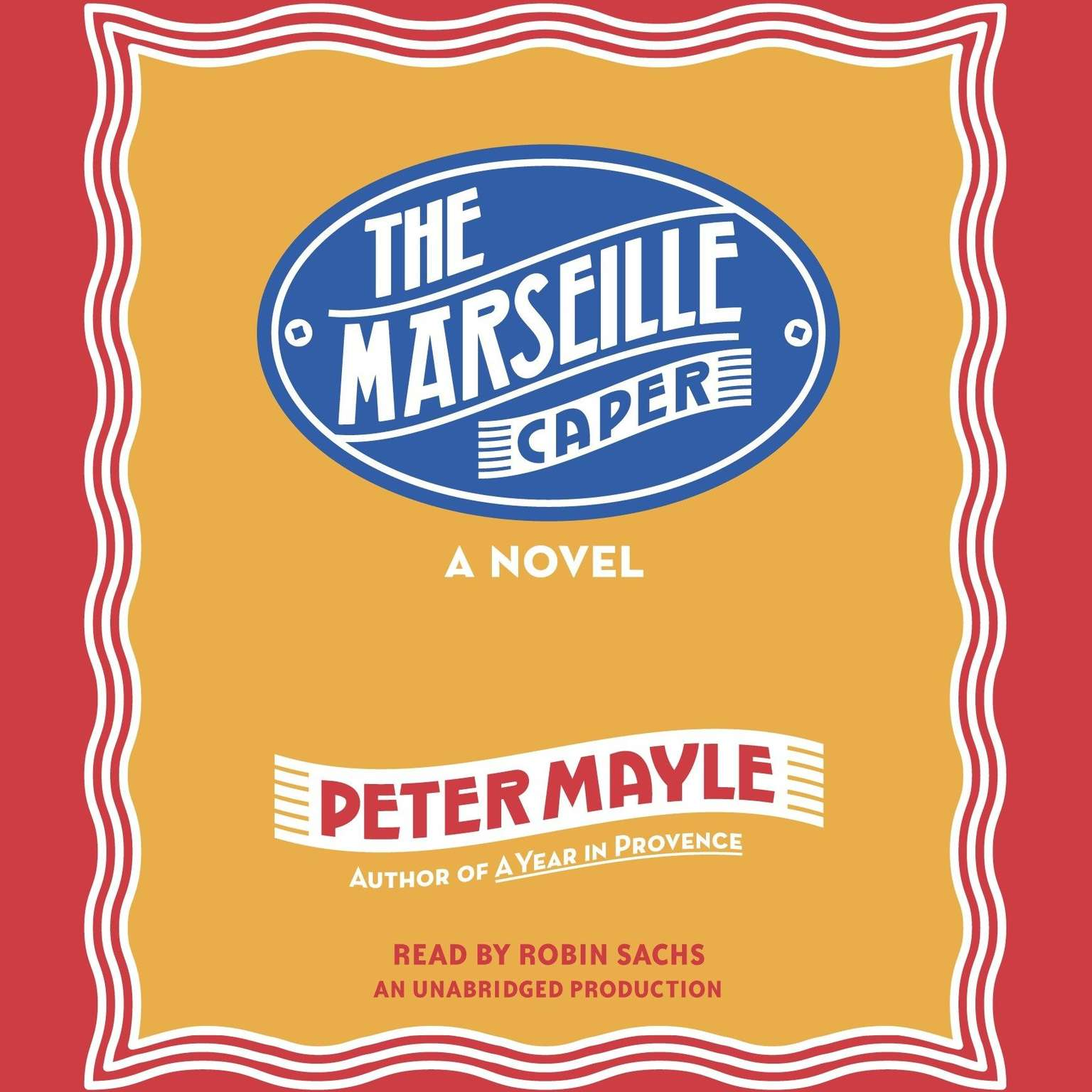 Printable The Marseille Caper Audiobook Cover Art
