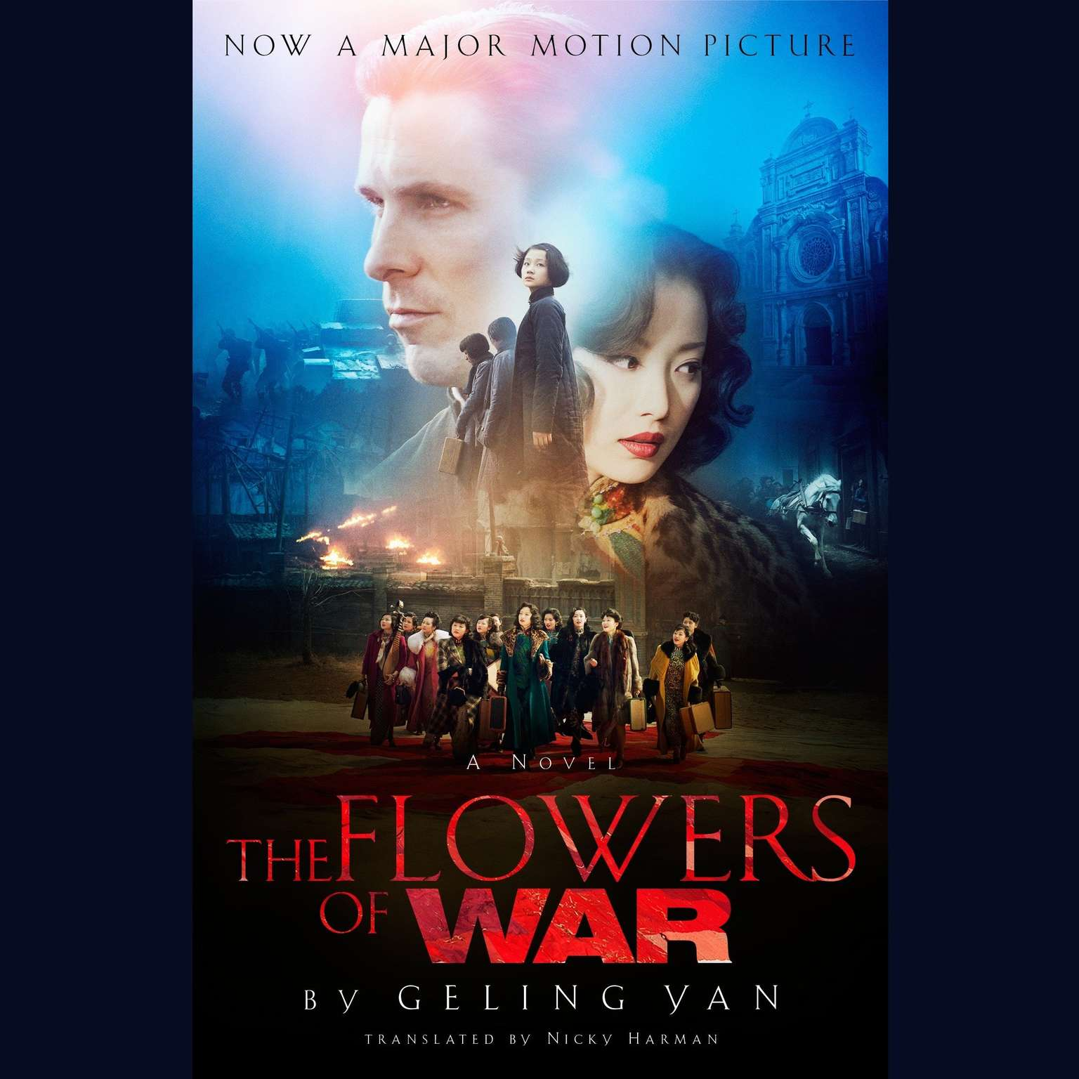 Printable The Flowers of War Audiobook Cover Art