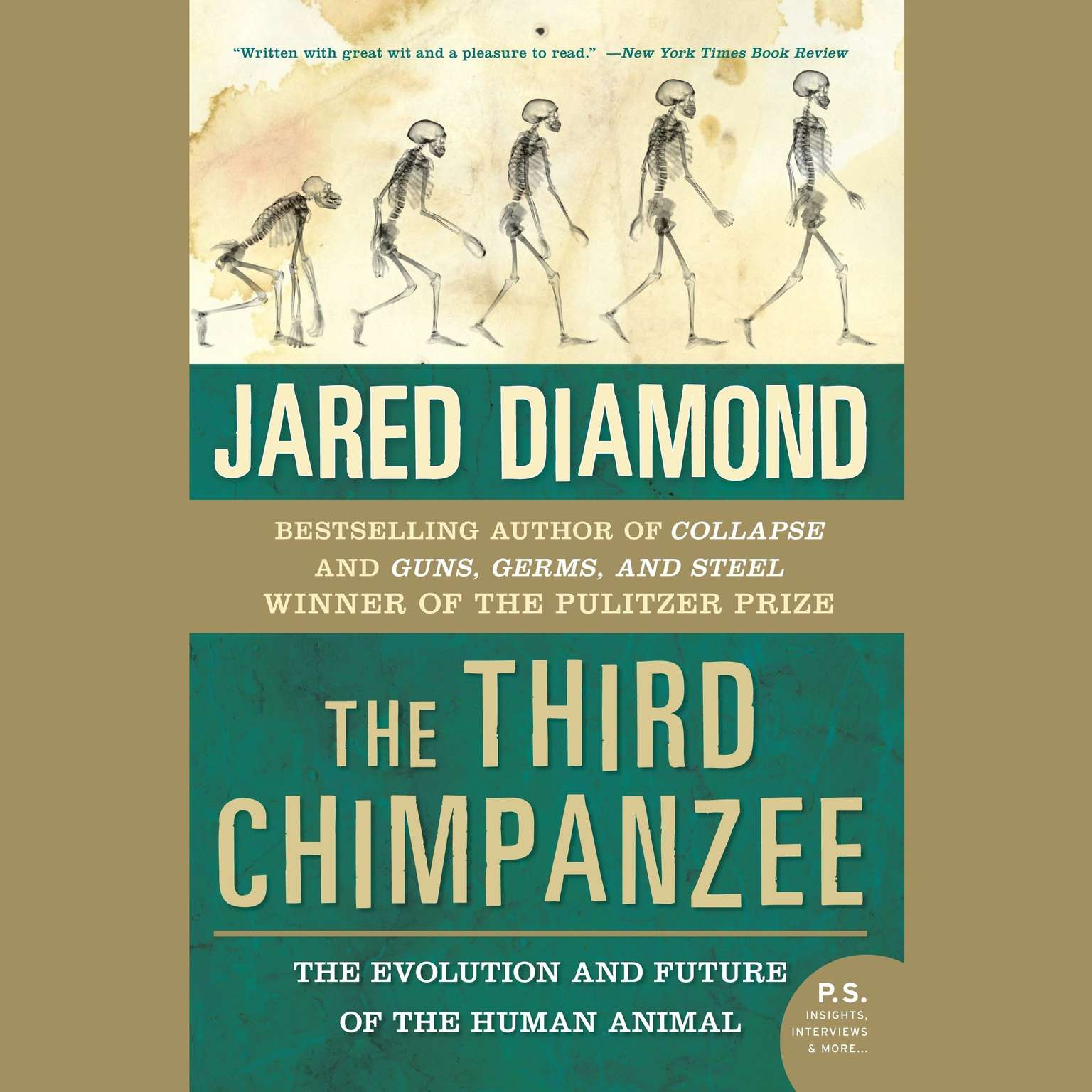 Printable The Third Chimpanzee: The Evolution and Future of the Human Animal Audiobook Cover Art