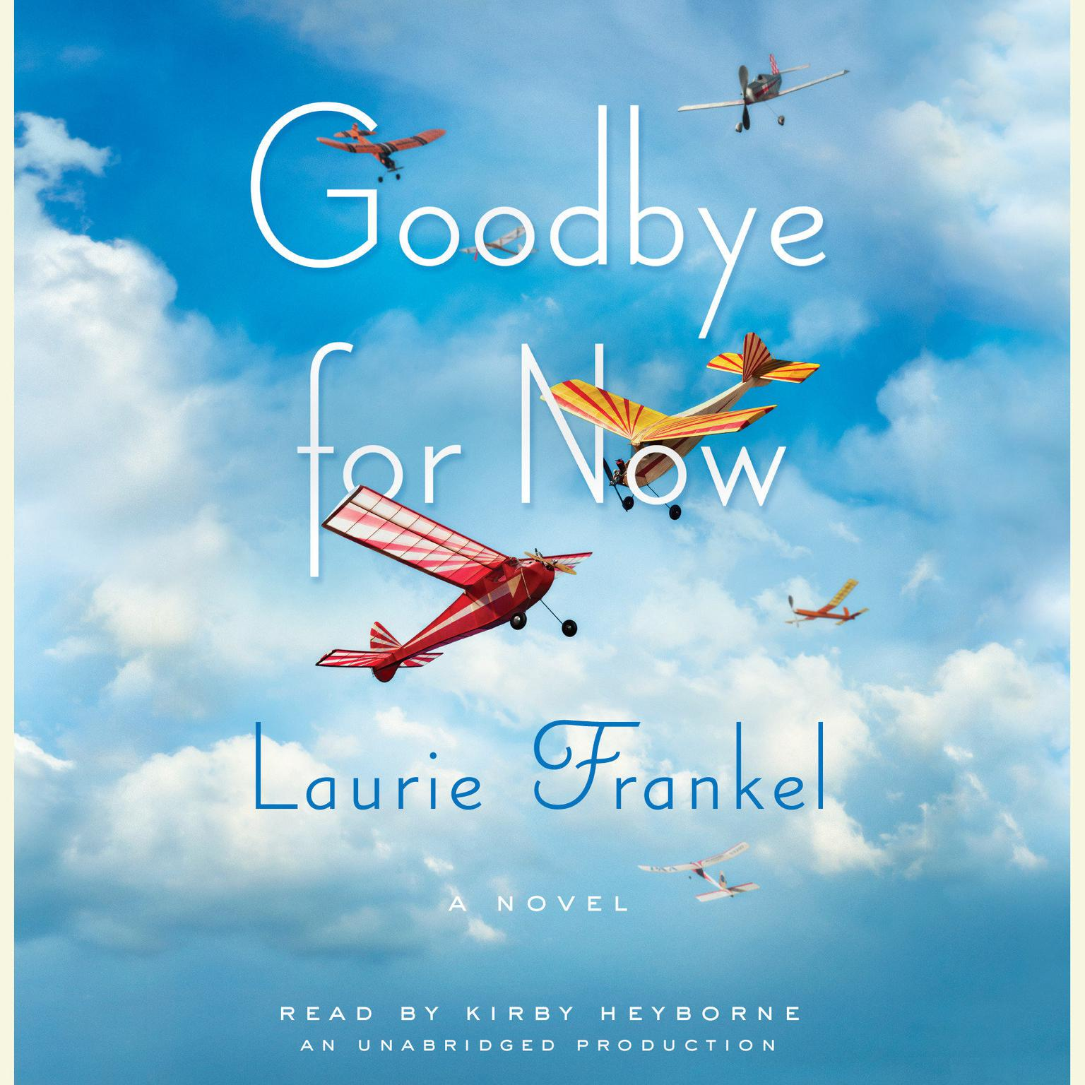 Printable Goodbye for Now: A Novel Audiobook Cover Art