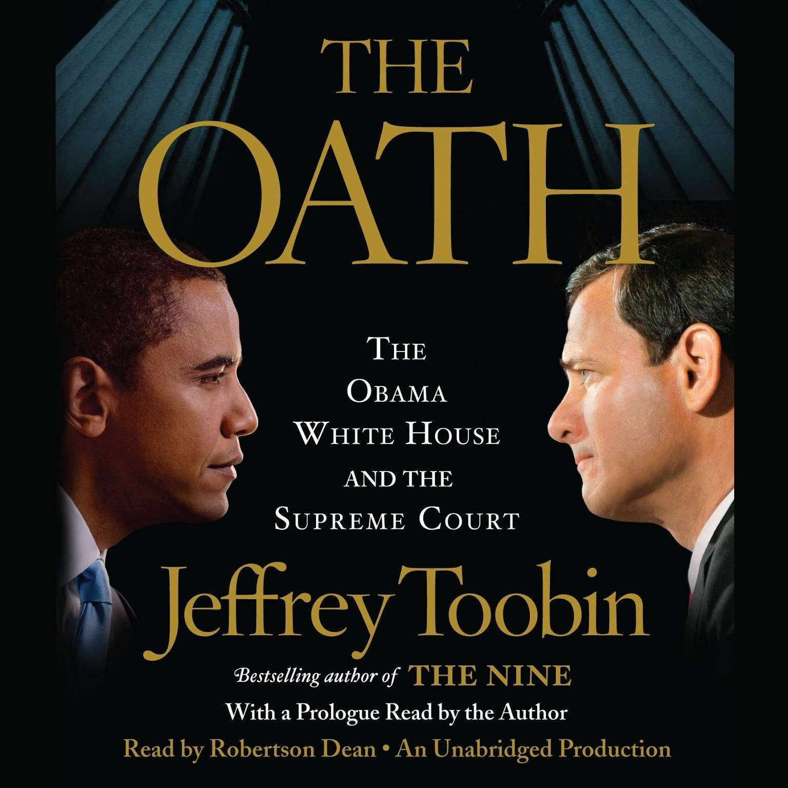 Printable The Oath: The Obama White House and the Supreme Court Audiobook Cover Art