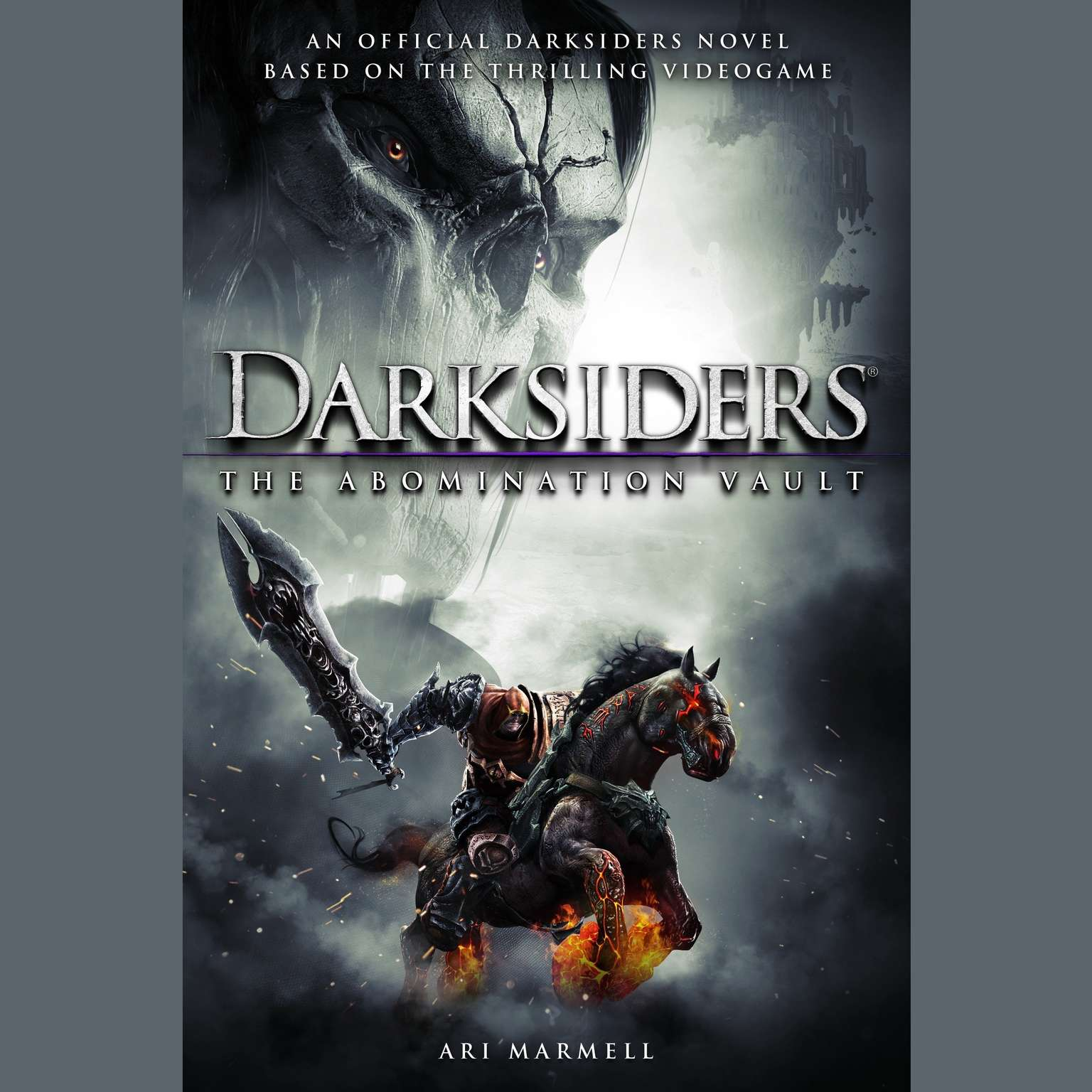 Printable Darksiders: The Abomination Vault Audiobook Cover Art