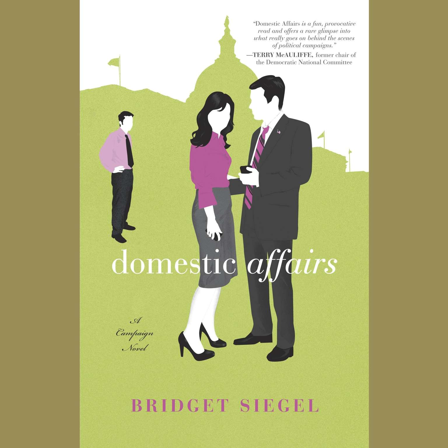 Printable Domestic Affairs: A Novel Audiobook Cover Art