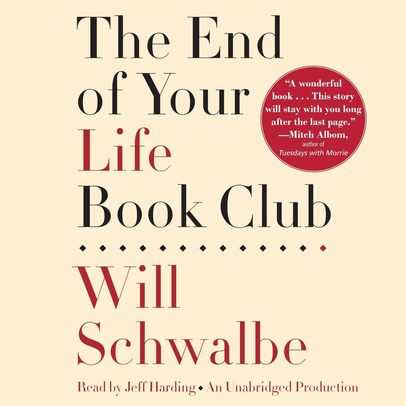 Printable The End of Your Life Book Club Audiobook Cover Art