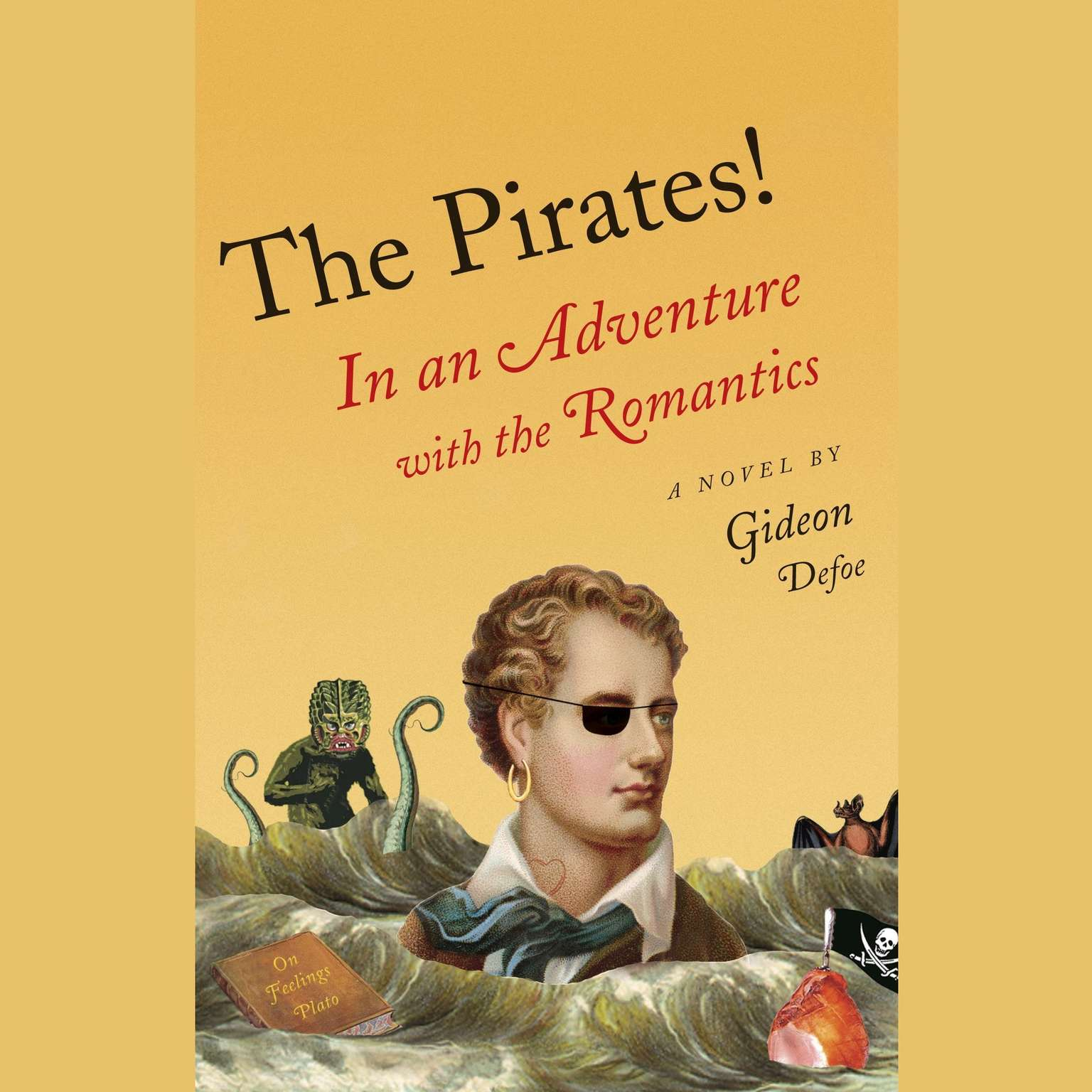 Printable In an Adventure with the Romantics: The Pirates! Audiobook Cover Art