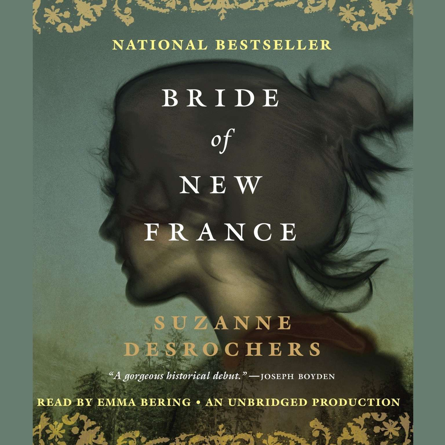 Printable Bride of New France Audiobook Cover Art