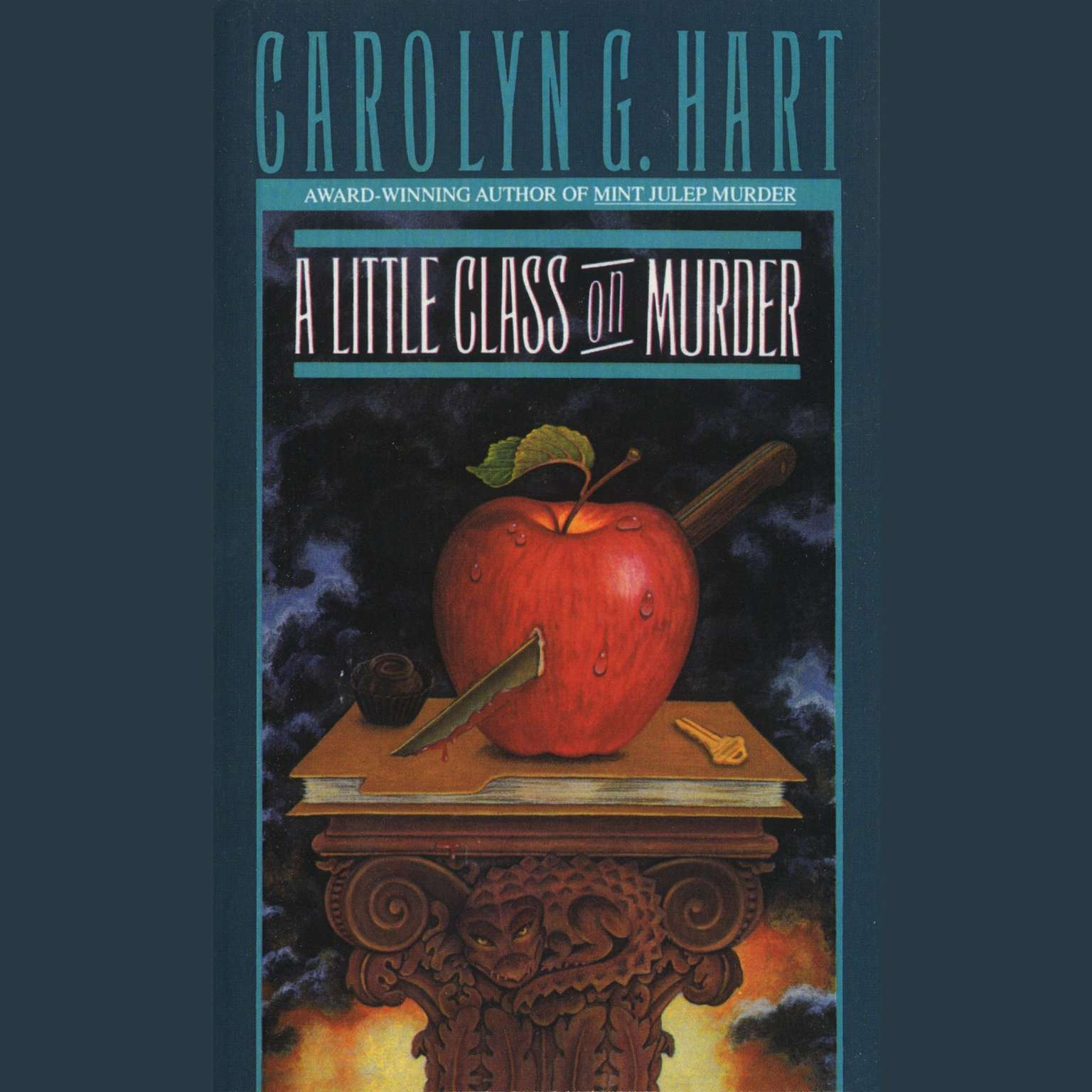 Printable A Little Class on Murder Audiobook Cover Art