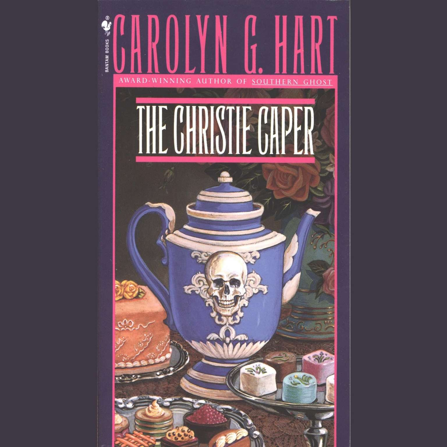 Printable The Christie Caper Audiobook Cover Art