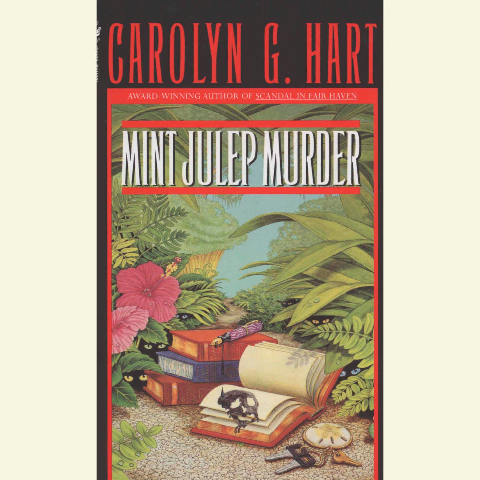 Printable Mint Julep Murder Audiobook Cover Art