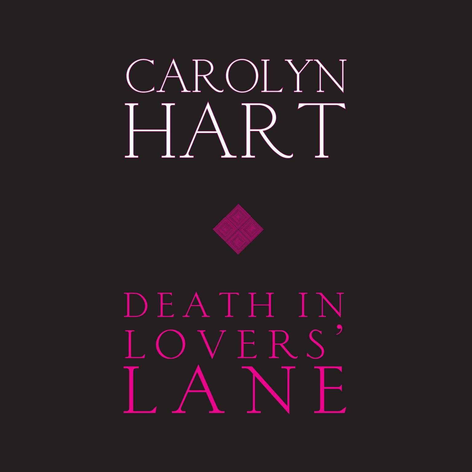 Printable Death in Lovers' Lane Audiobook Cover Art