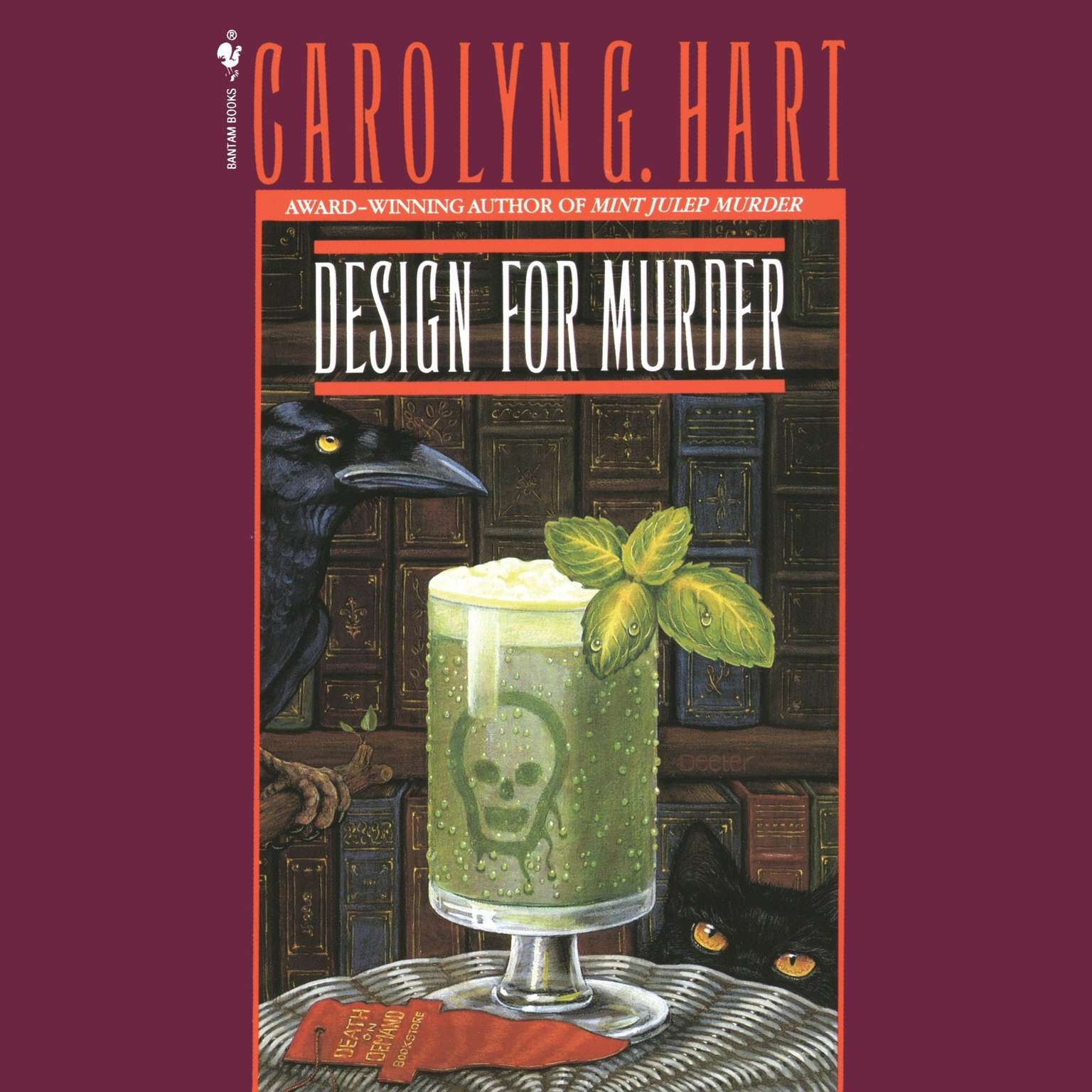 Printable Design For Murder Audiobook Cover Art