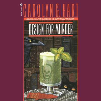 Design For Murder Audiobook, by Carolyn Hart