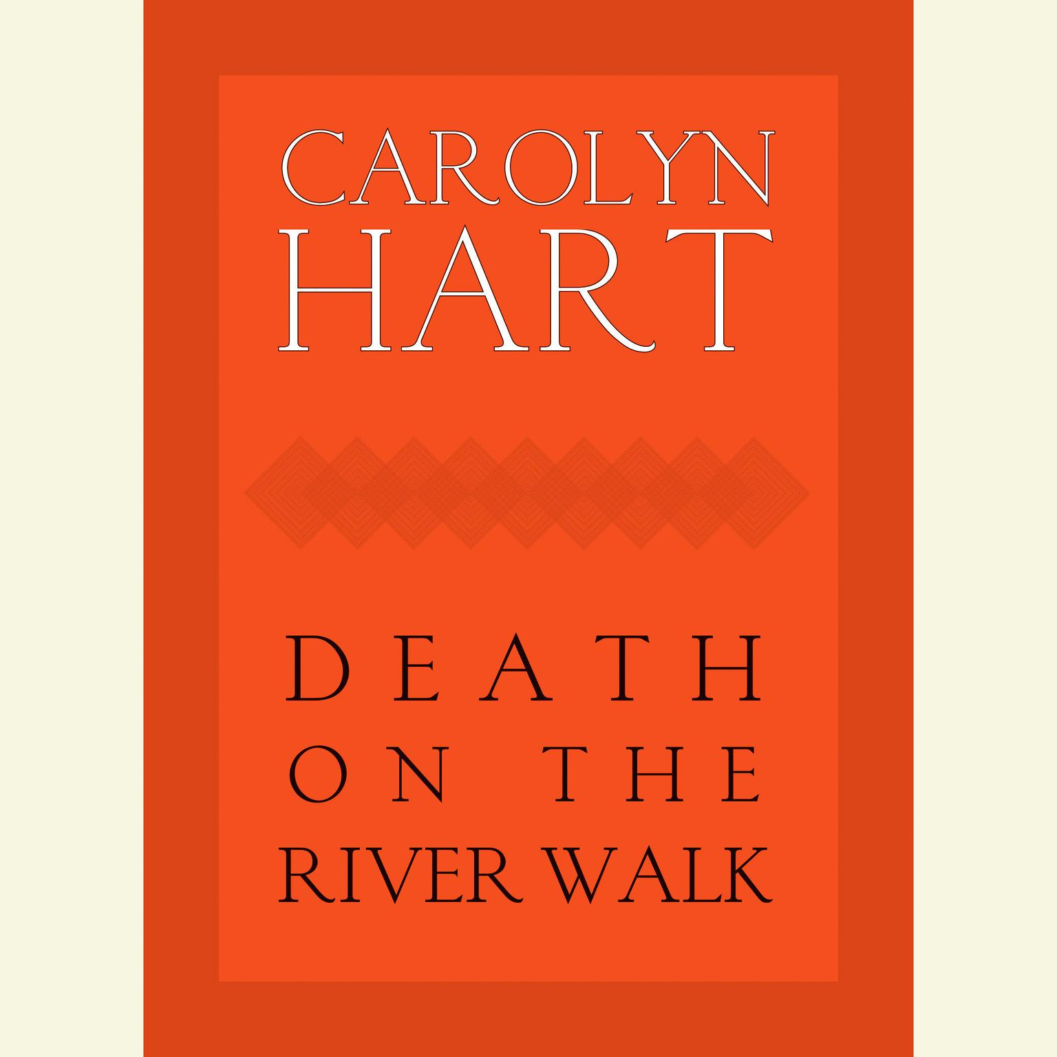 Printable Death on the River Walk Audiobook Cover Art